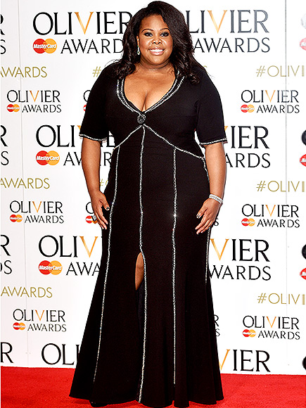 Amber Riley Says She Loves the Fact That Her 'Ass Is Fat'