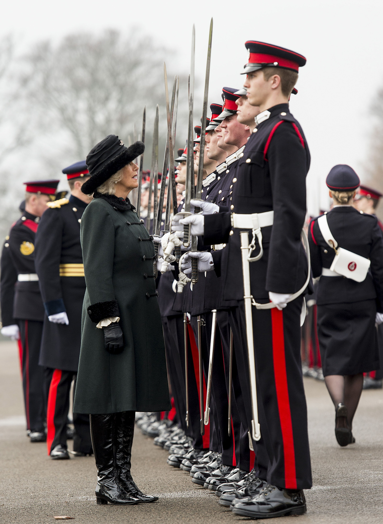 The Duchess Of Cornwall Attends The Sovereign's Parade