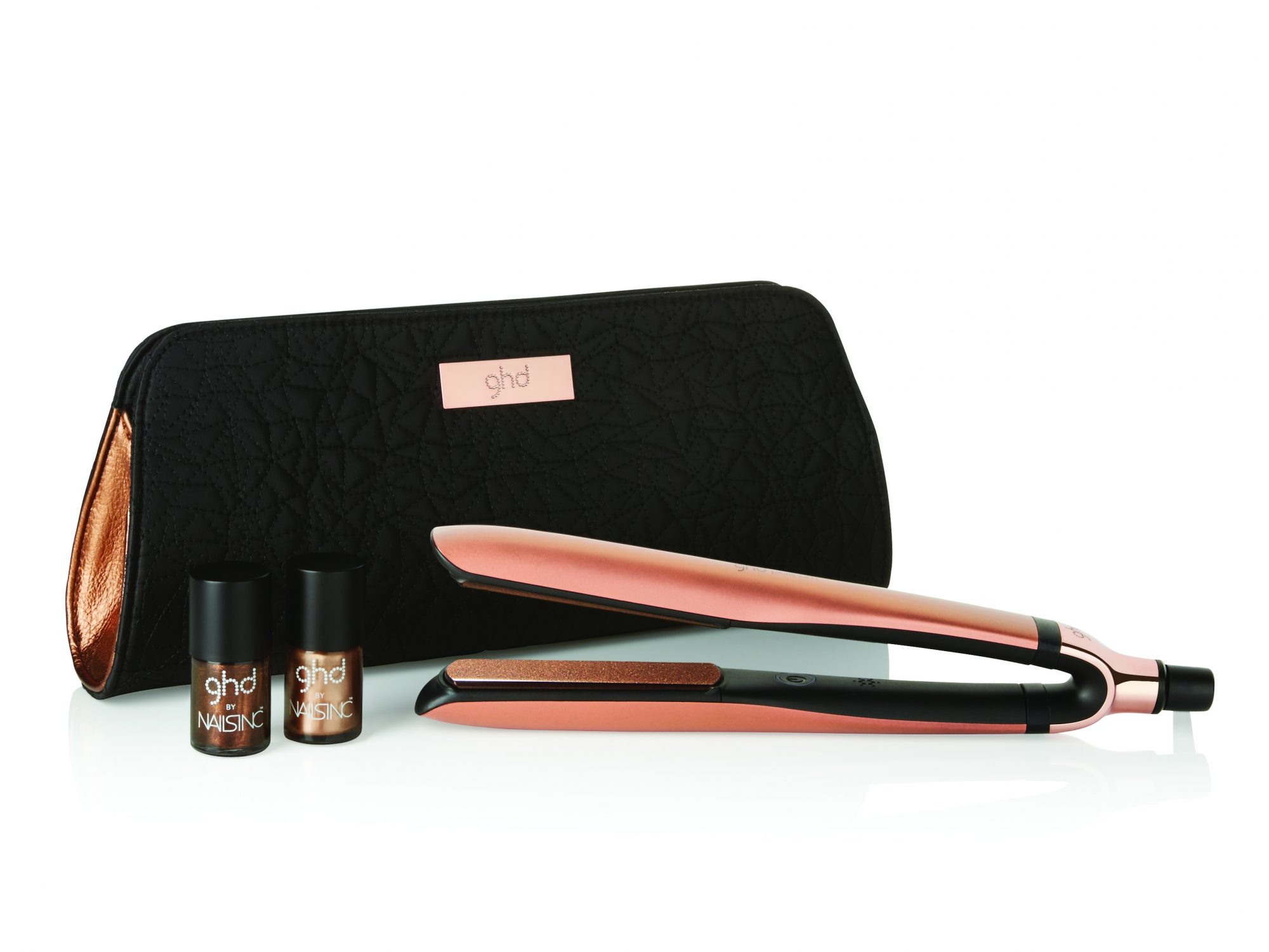 GHD Rose Gold styler set