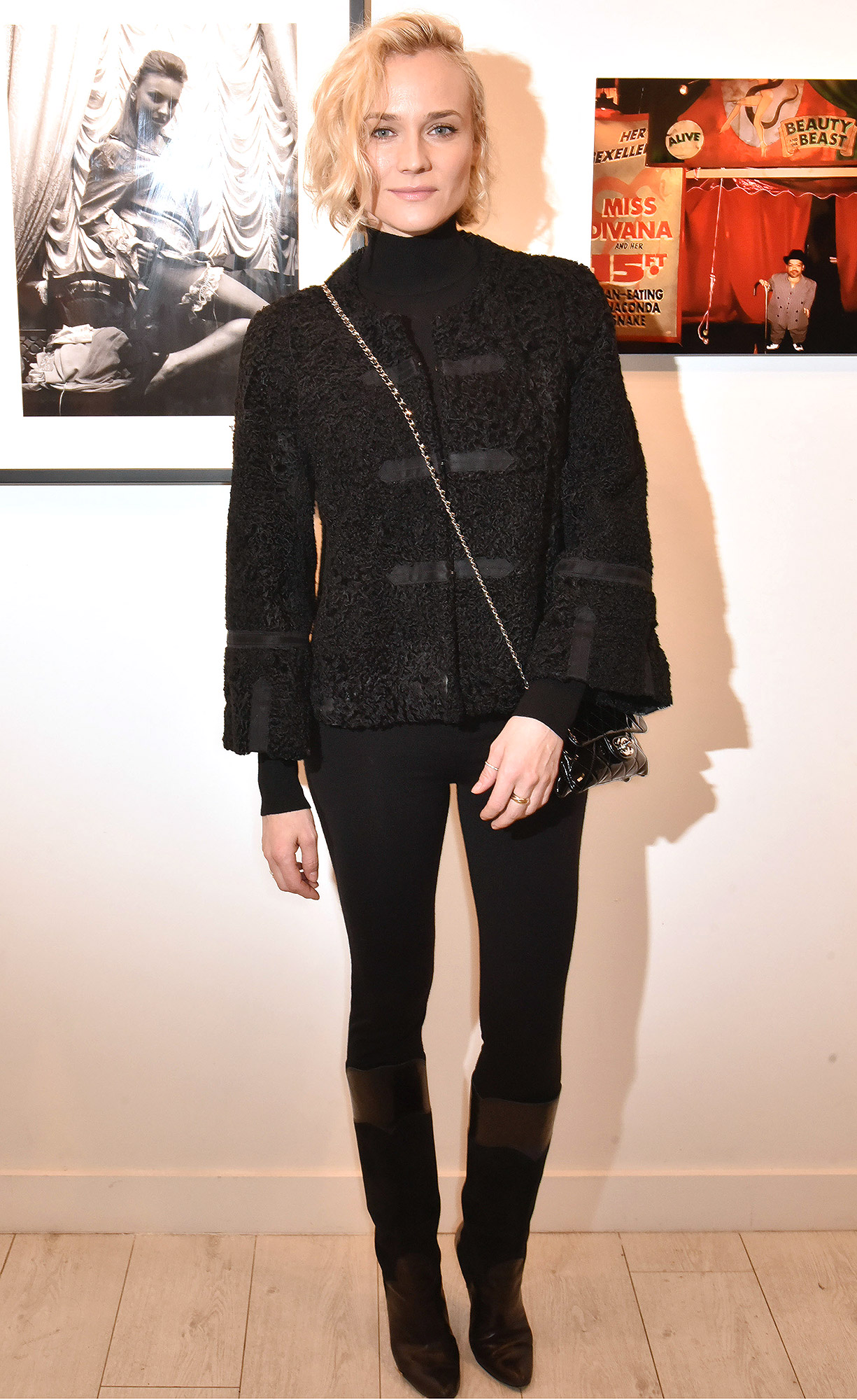 """""""Norman Reedus""""  Exhibition at Galerie Hors Champs In Paris"""