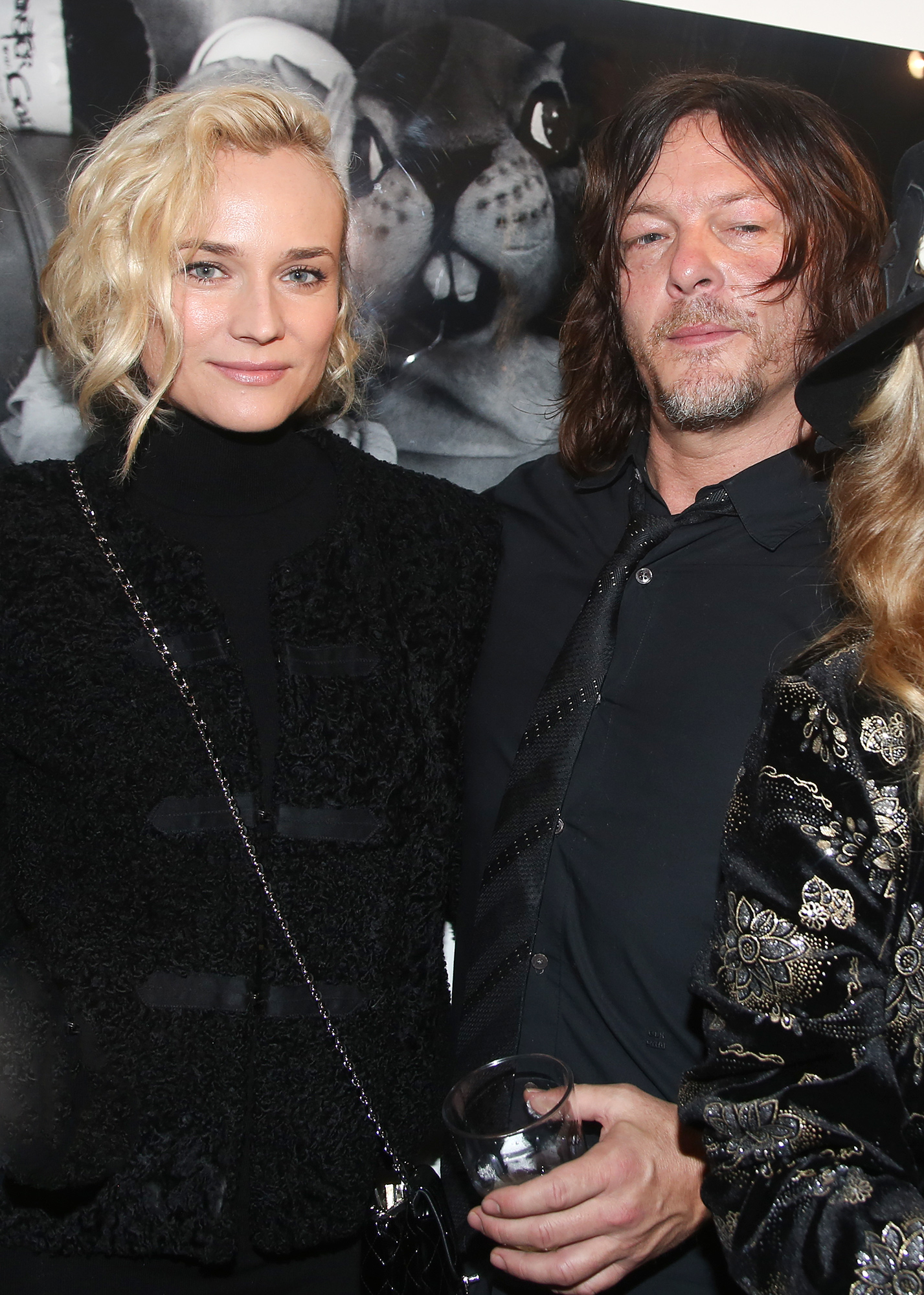 'Norman Reedus' Exhibition at Galerie Hors Champs In Paris