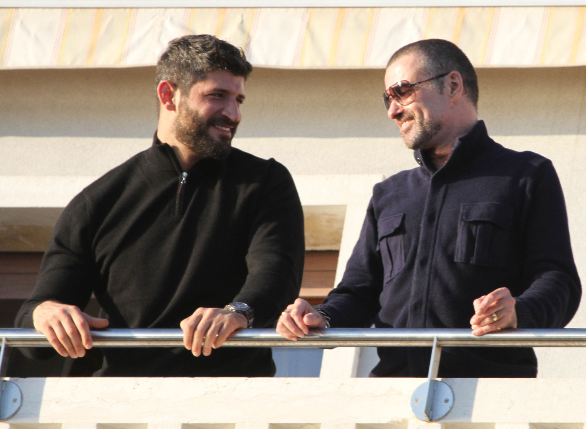 George Michael spotted in Venice