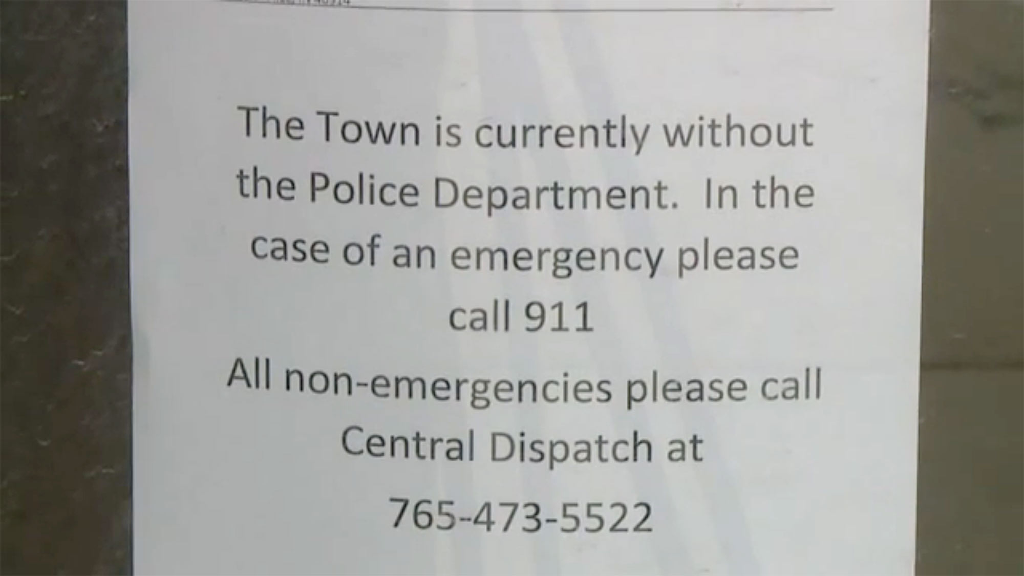 Entire Indiana Town Police Department Quits After Allegedly Being Asked to Commit 'Illegal' Acts