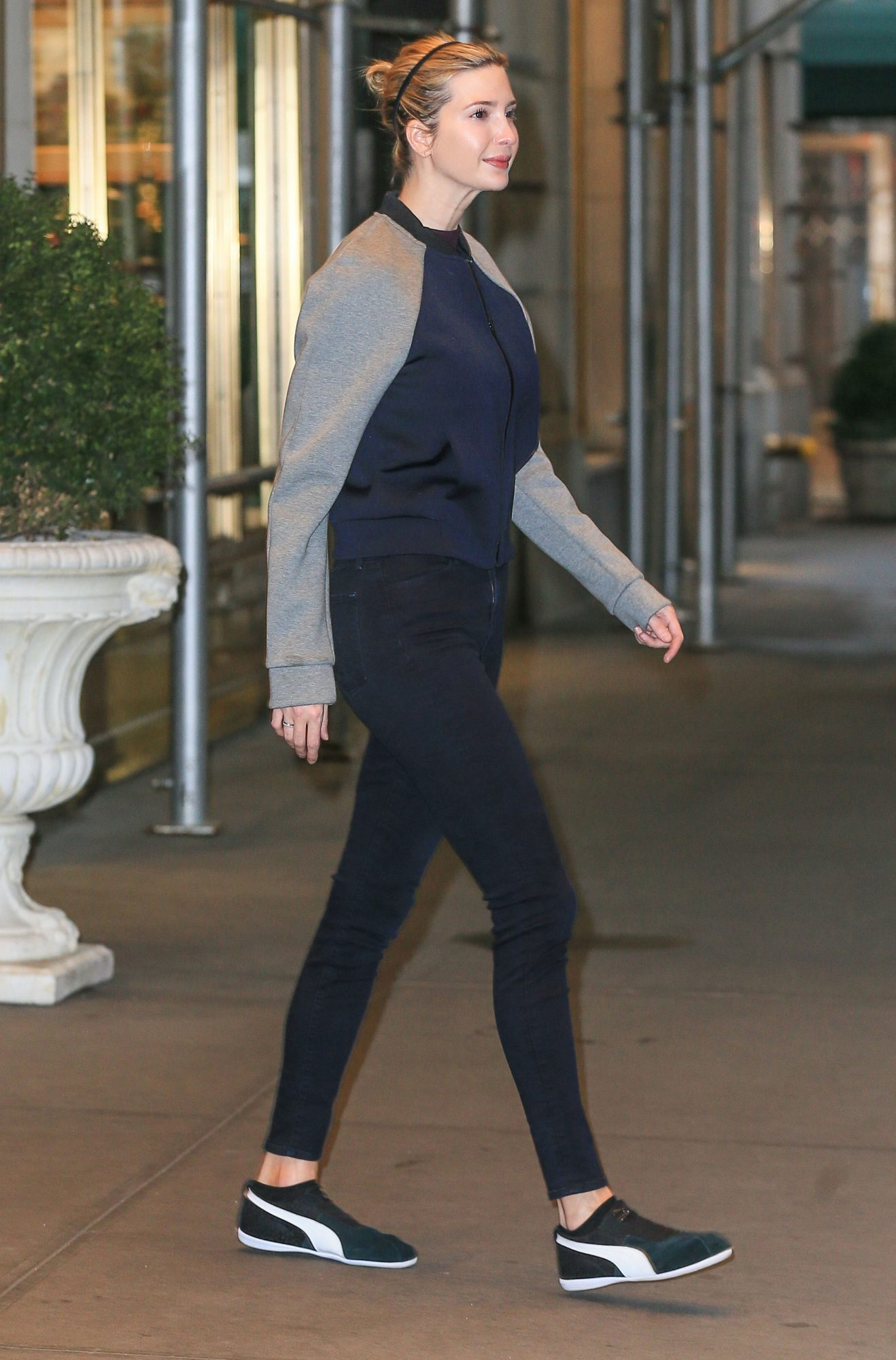 Ivanka Trump Leaves Her Apartment In Gym Clothes