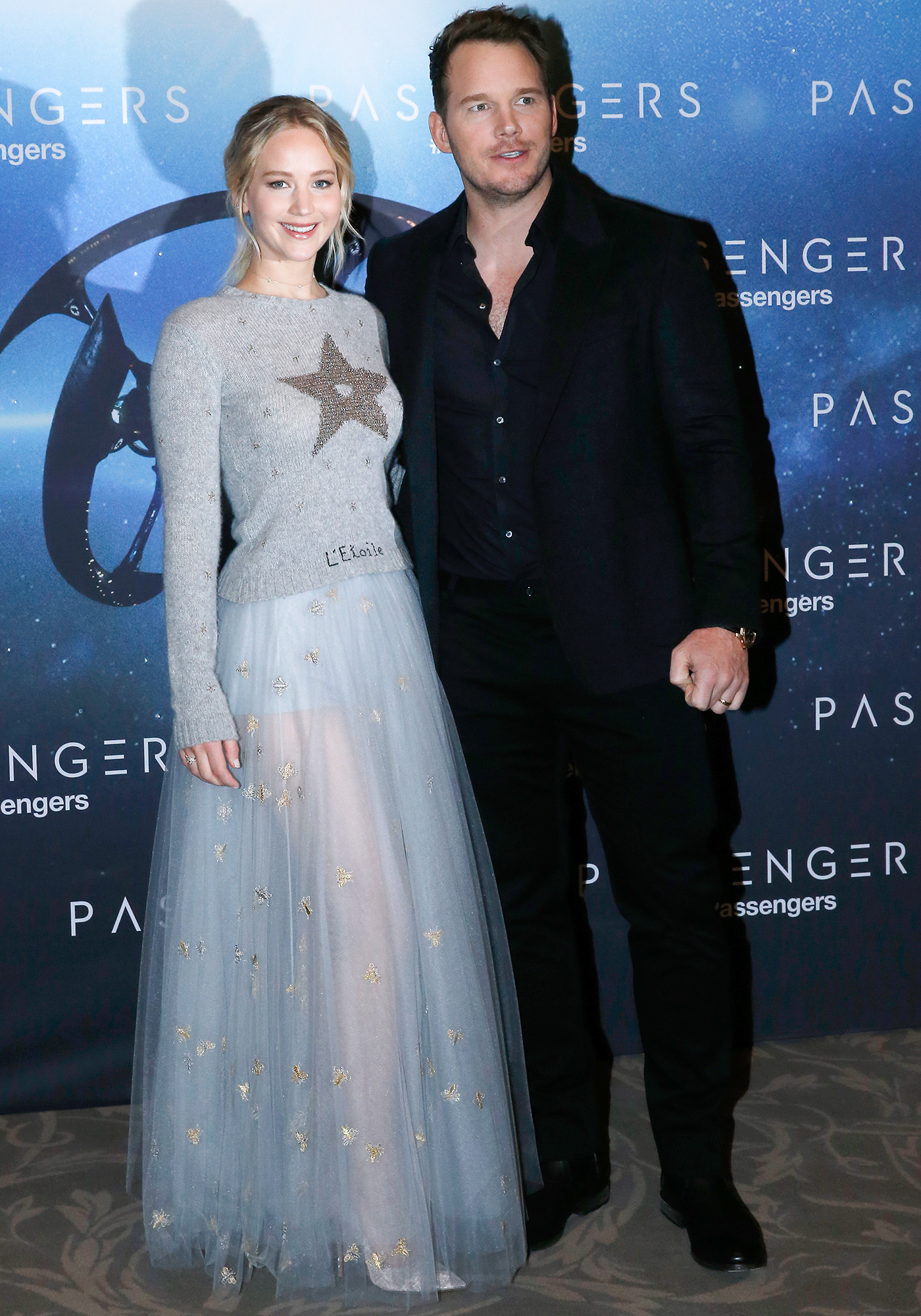 """Passengers"" Paris Photocall At Hotel Georges V"