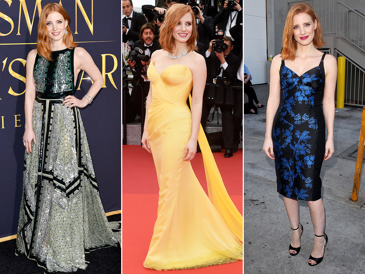Jessica Chastain: The Girlie Girl