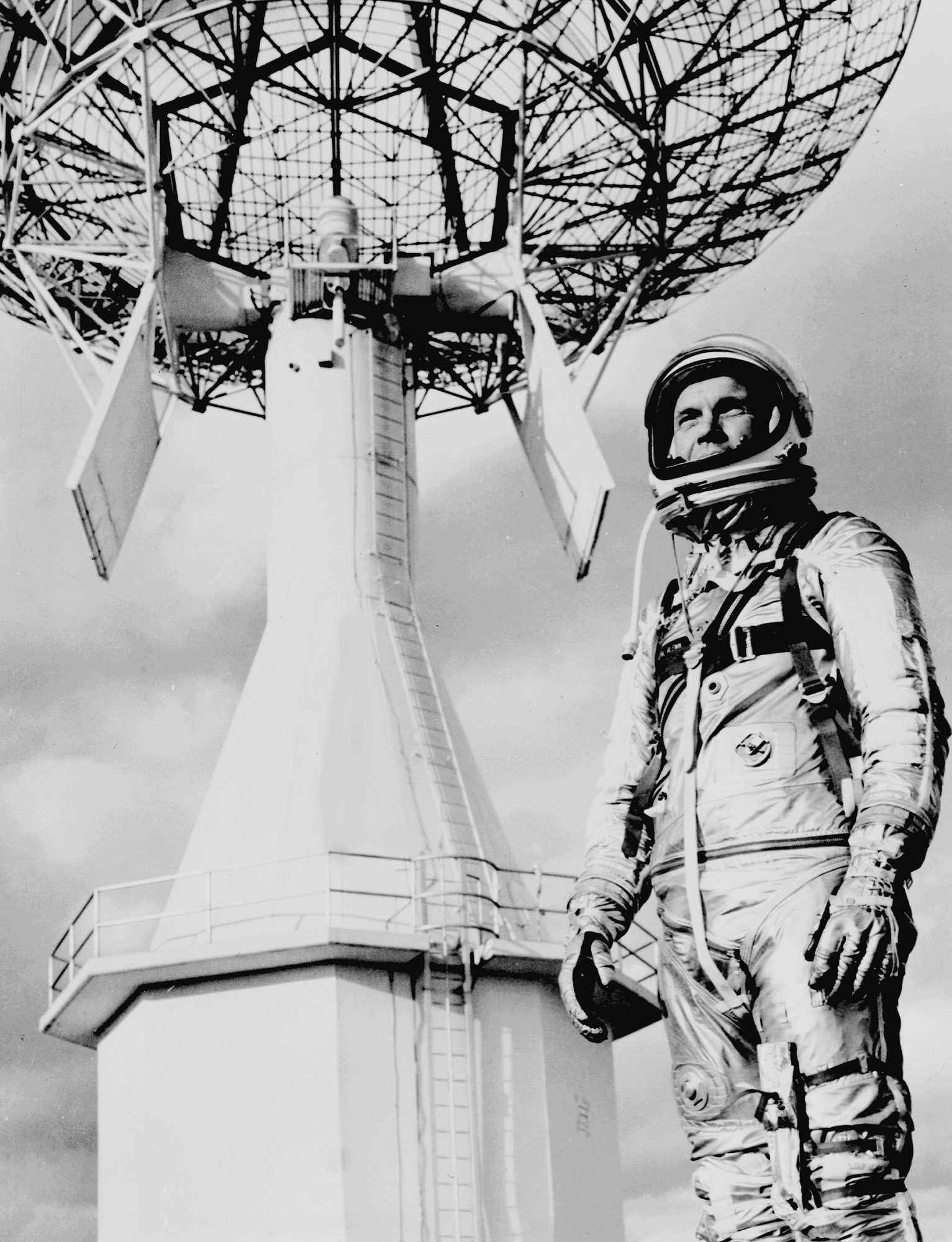 CAPE CANAVERAL - JUNE 22: PROJECT MERCURY John Glenn. Image dated June 22, 1962. (Photo by CBS via Getty Images)