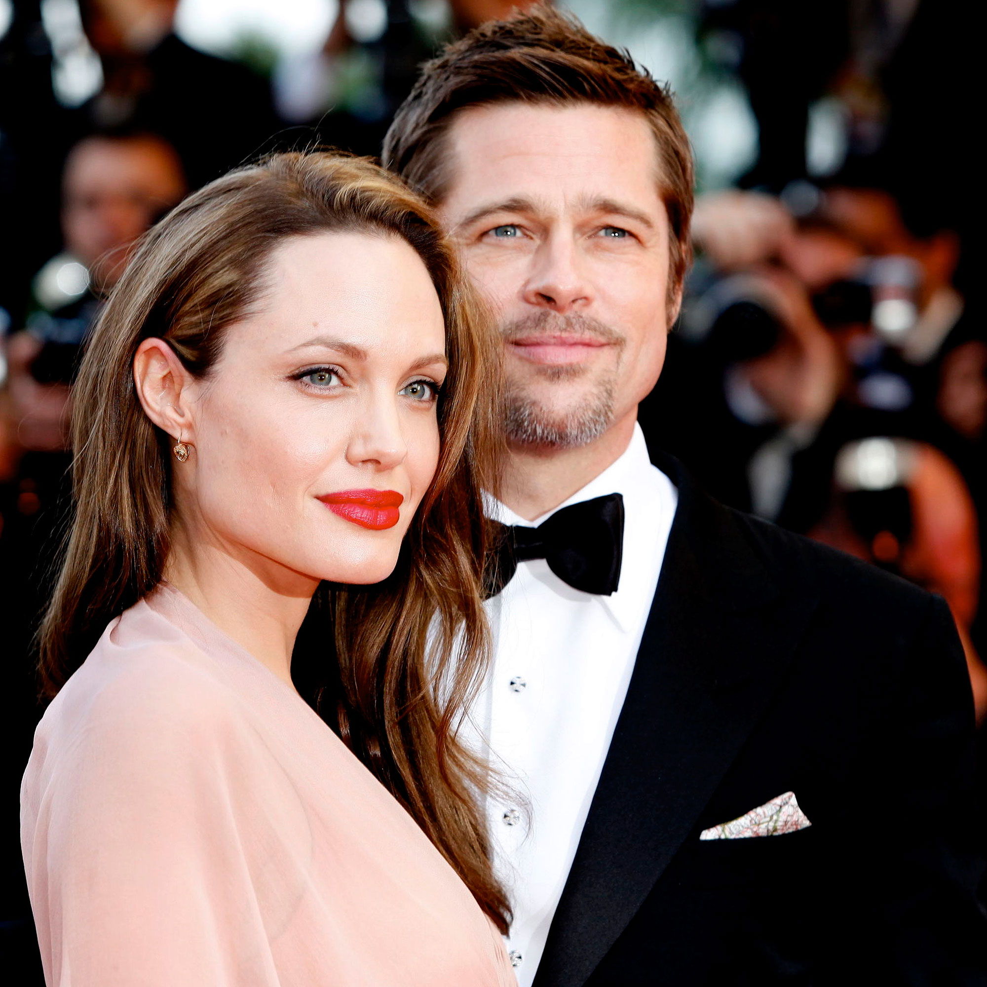 Brad Pitt and Angelina Jolie (2016)