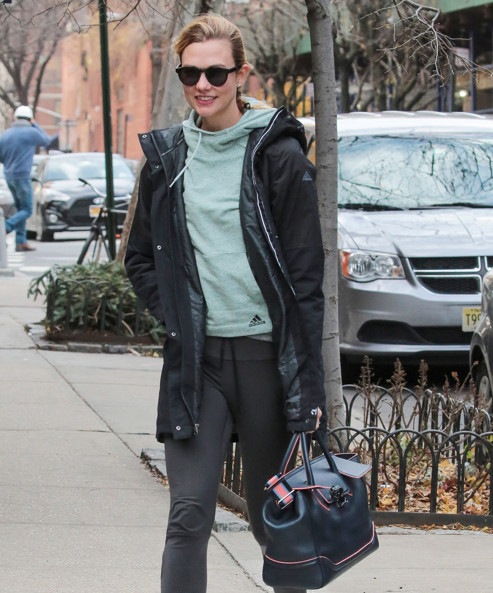 EXCLUSIVE: Karlie Kloss is spotted out and about in New York City
