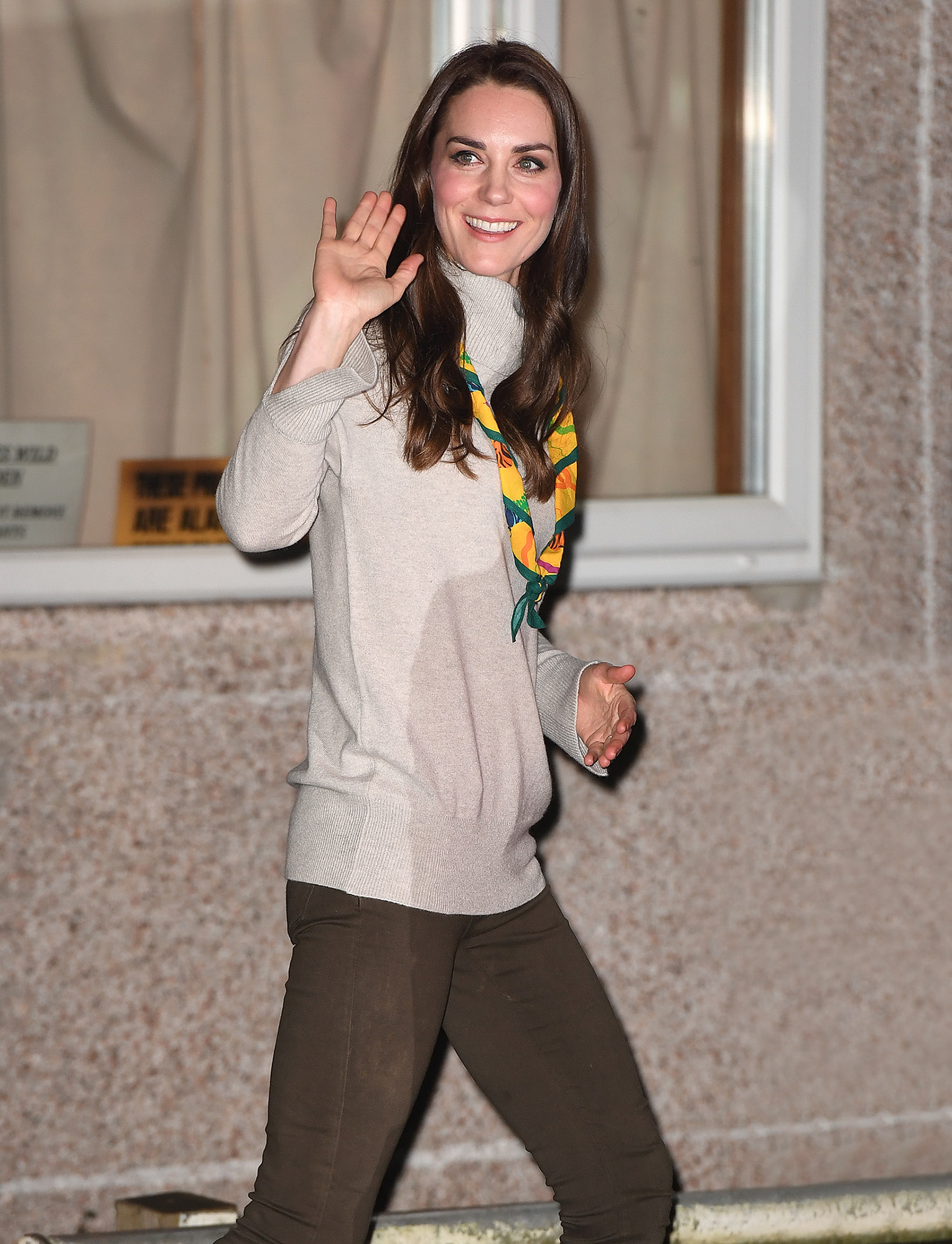 The Duchess of Cambridge attends a special Cub Scout Pack meeting