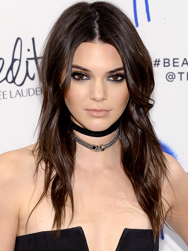 Kendall Jenner S Choker Collection She S So Over Fabric Chokers People Com