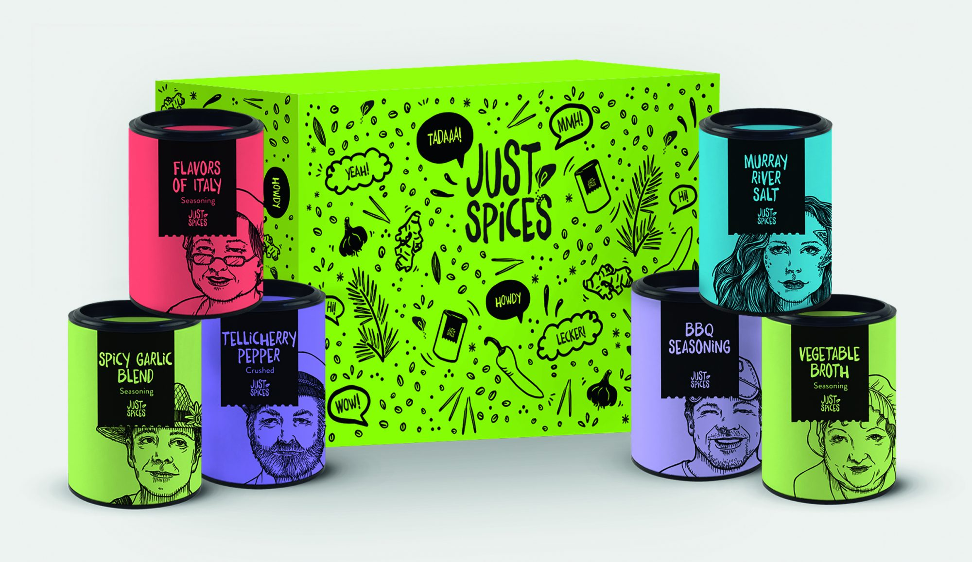 just-spices-box-set