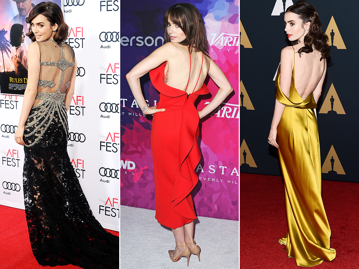 Lily Collins: The Old Hollywood Siren