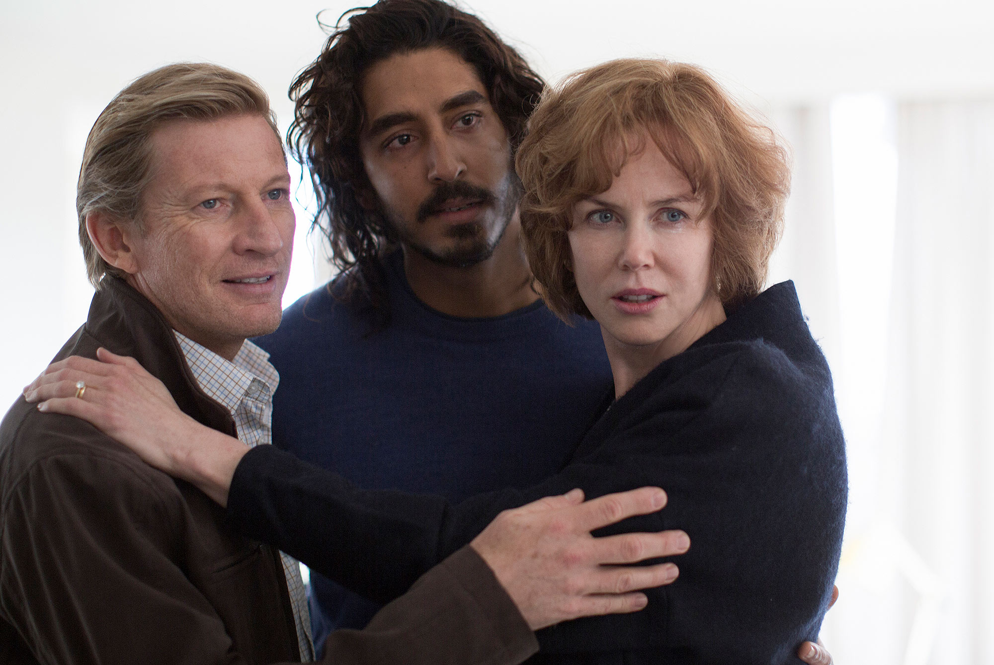 David Wenham, Dev Patel and Nicole Kidman star in LION © Long Way Home Productions 2015 Photo Credit: Courtesy The Weinstein Company
