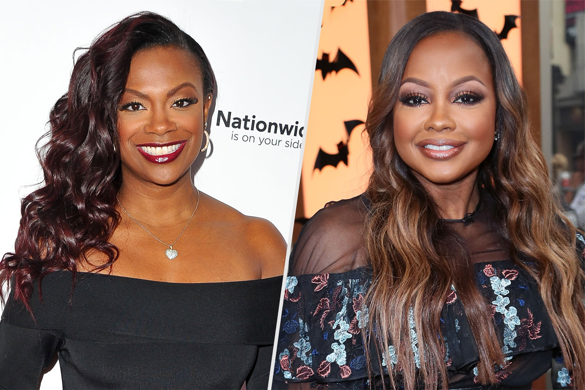 Phaedra Parks and Kandi Burruss