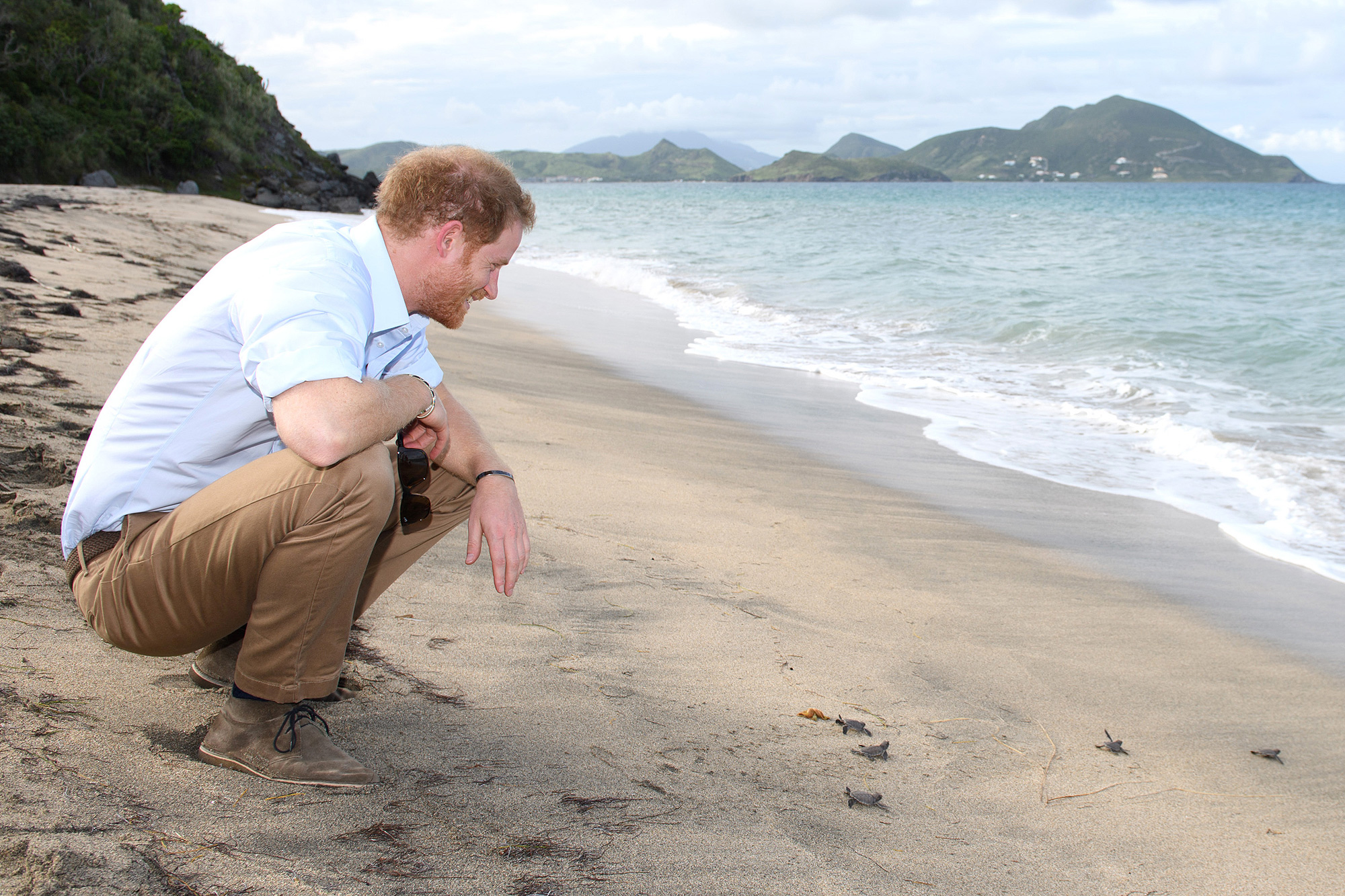 Prince Harry Visits The Caribbean - Day 4