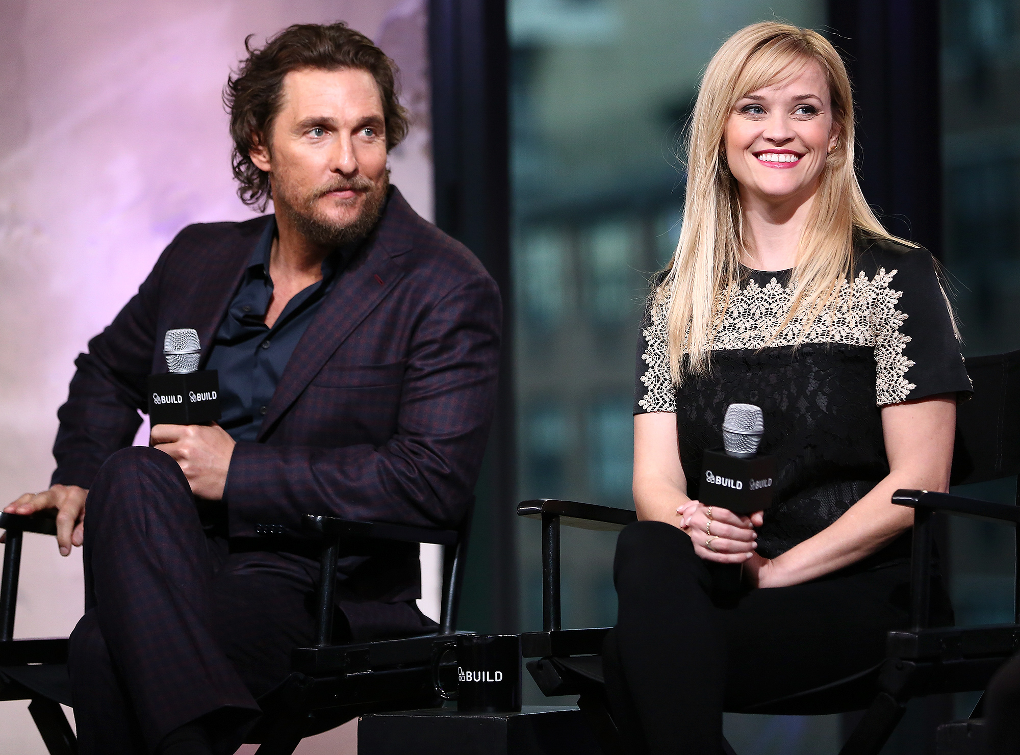 """Build Presents Matthew McConaughey and Reese Witherspoon Discussing """"Sing"""""""