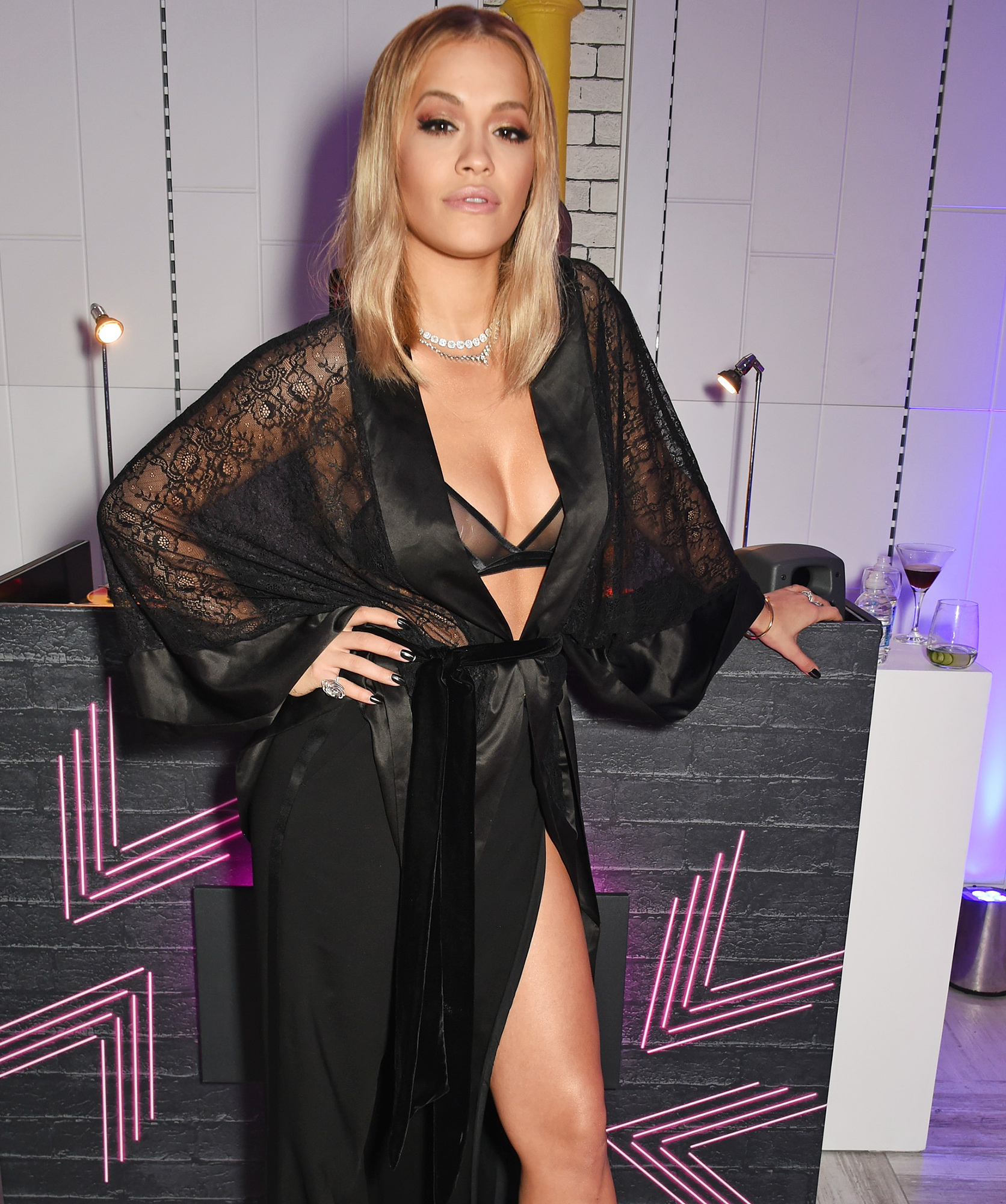 Rita Ora Relaunches Tezenis Oxford Circus With Intimate Gig