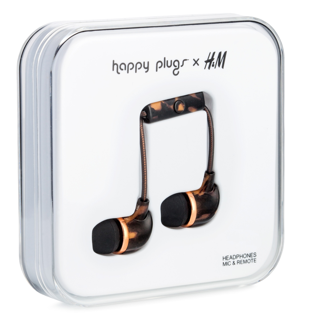 New Years Resolutions Happy Plugs x H&M earbuds