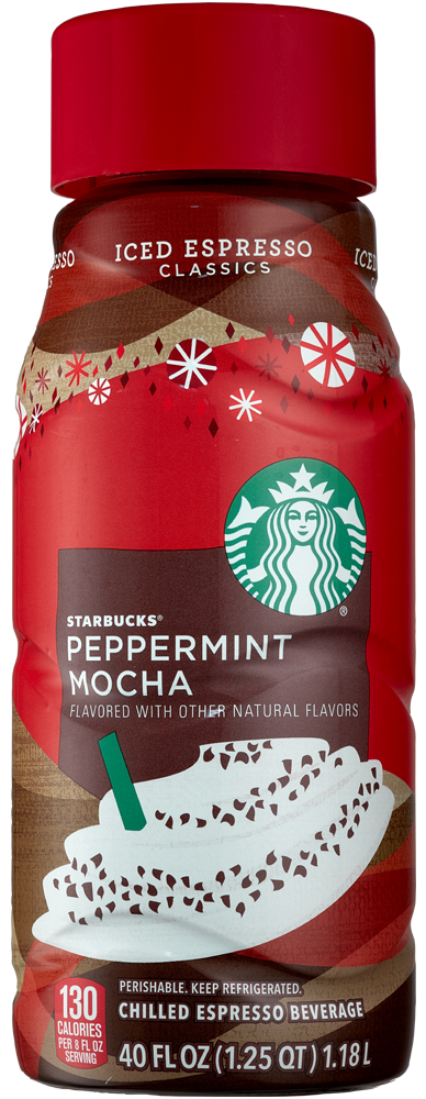 STARBUCKS ICED PEPPERMINT MOCHA