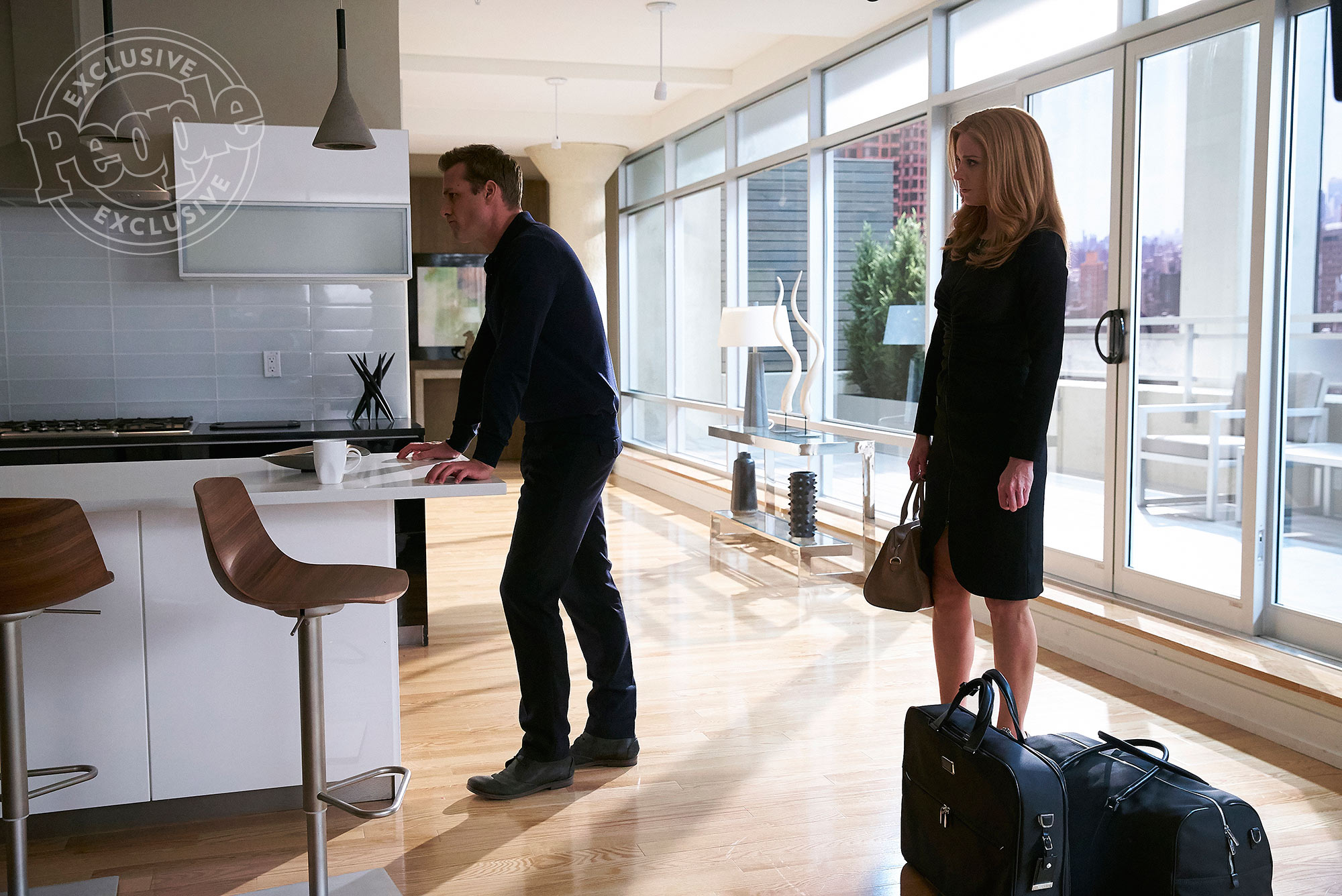 SUITS -- Episode 612 -- Pictured: (l-r) -- (Photo by: Shane Mahood/USA Network)