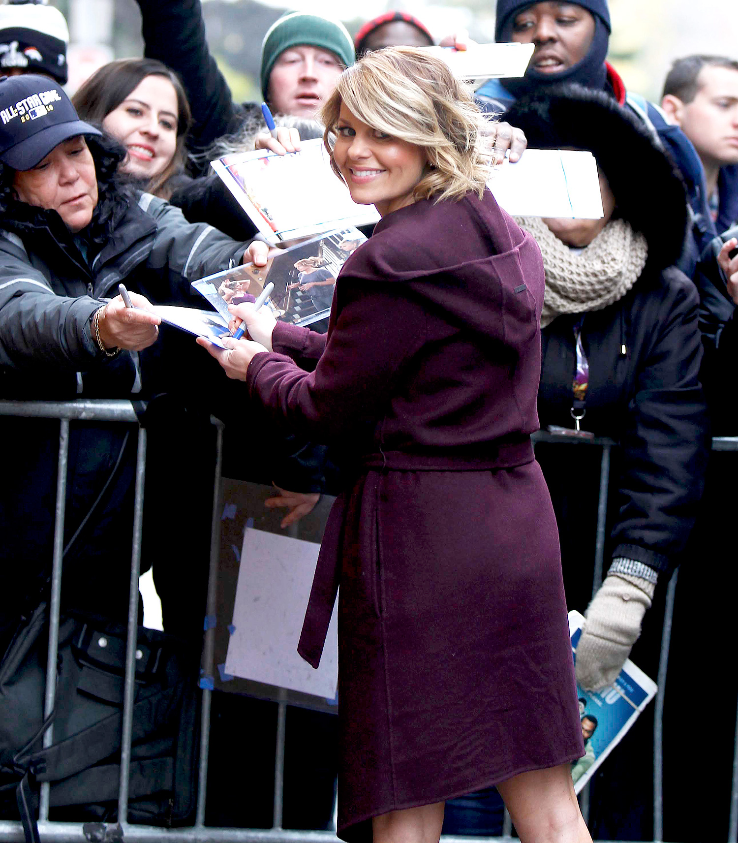 """Candace Cameron Bure announces that she's leaving """"The View"""" talk show in NYC"""