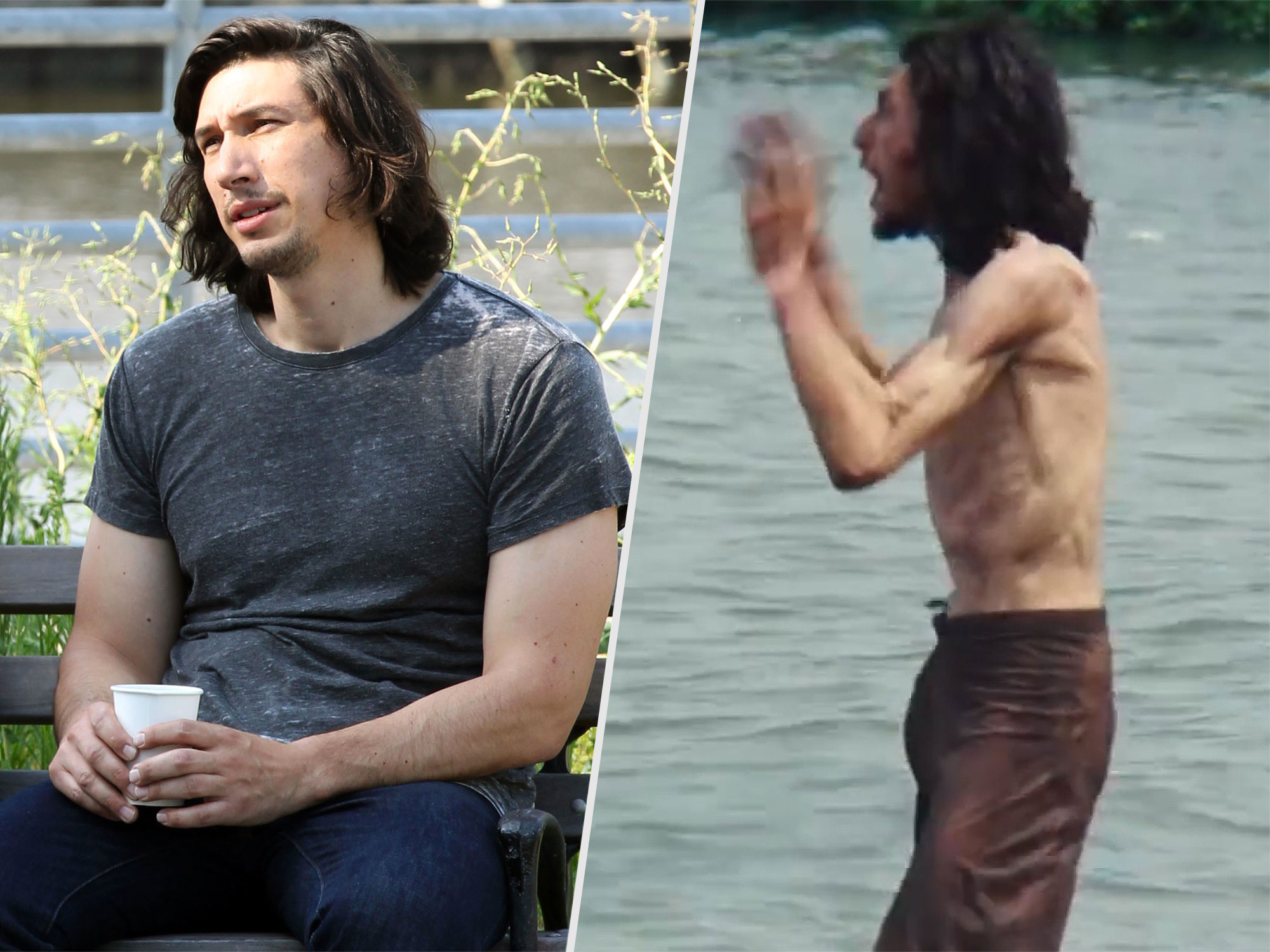 Adam Driver Lost Weight for Silence