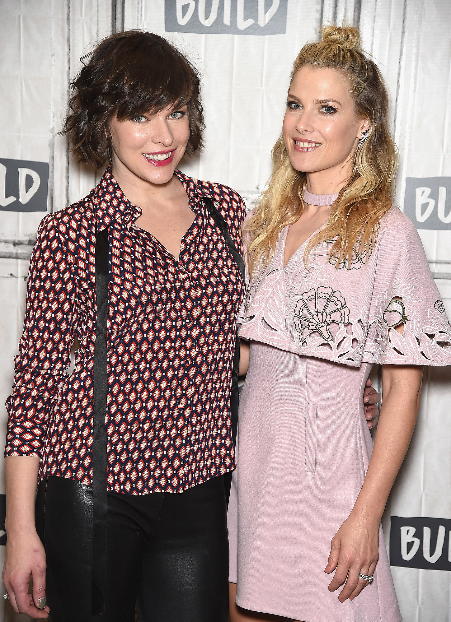 """Build Series Presents Milla Jovovich and Ali Larter Discussing """"Resident Evil: The Final Chapter"""""""