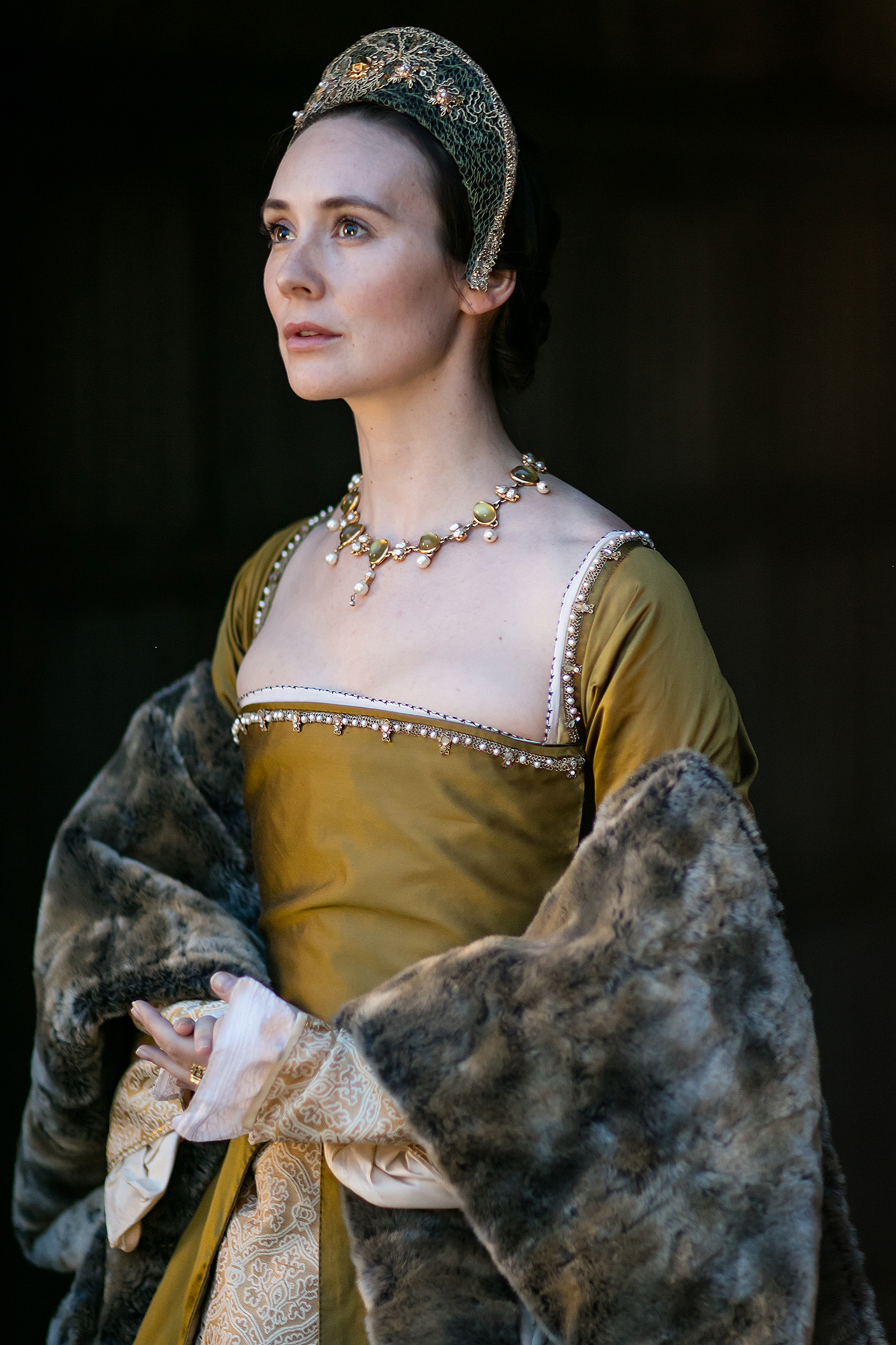 Anne Boleyn (Claire Cooper) Executed