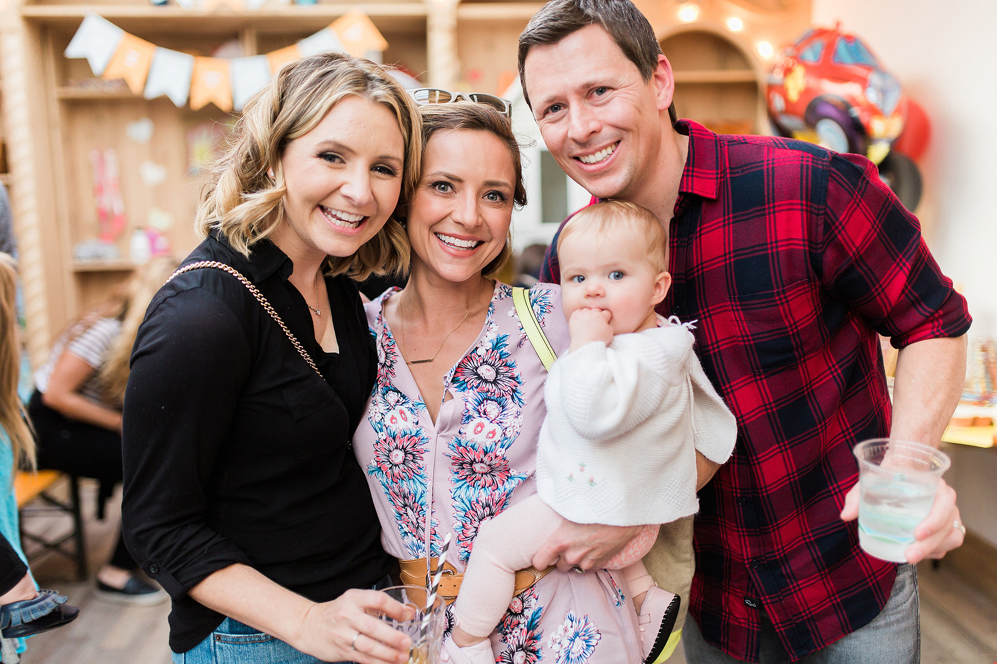 Beverley Mitchell's son Hutton's birthday
