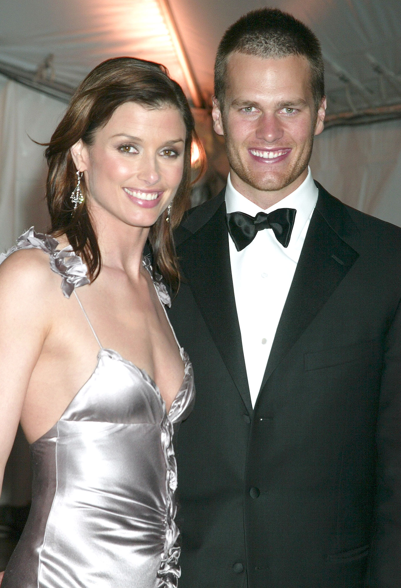 Bridget Moynahan and Tom Brady (Photo by Gregory Pace/FilmMagic)