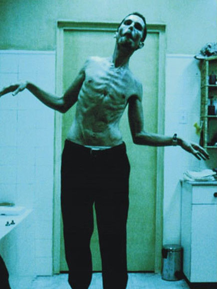 Christian Bale Lost 63 Lbs. to Play The Machinist