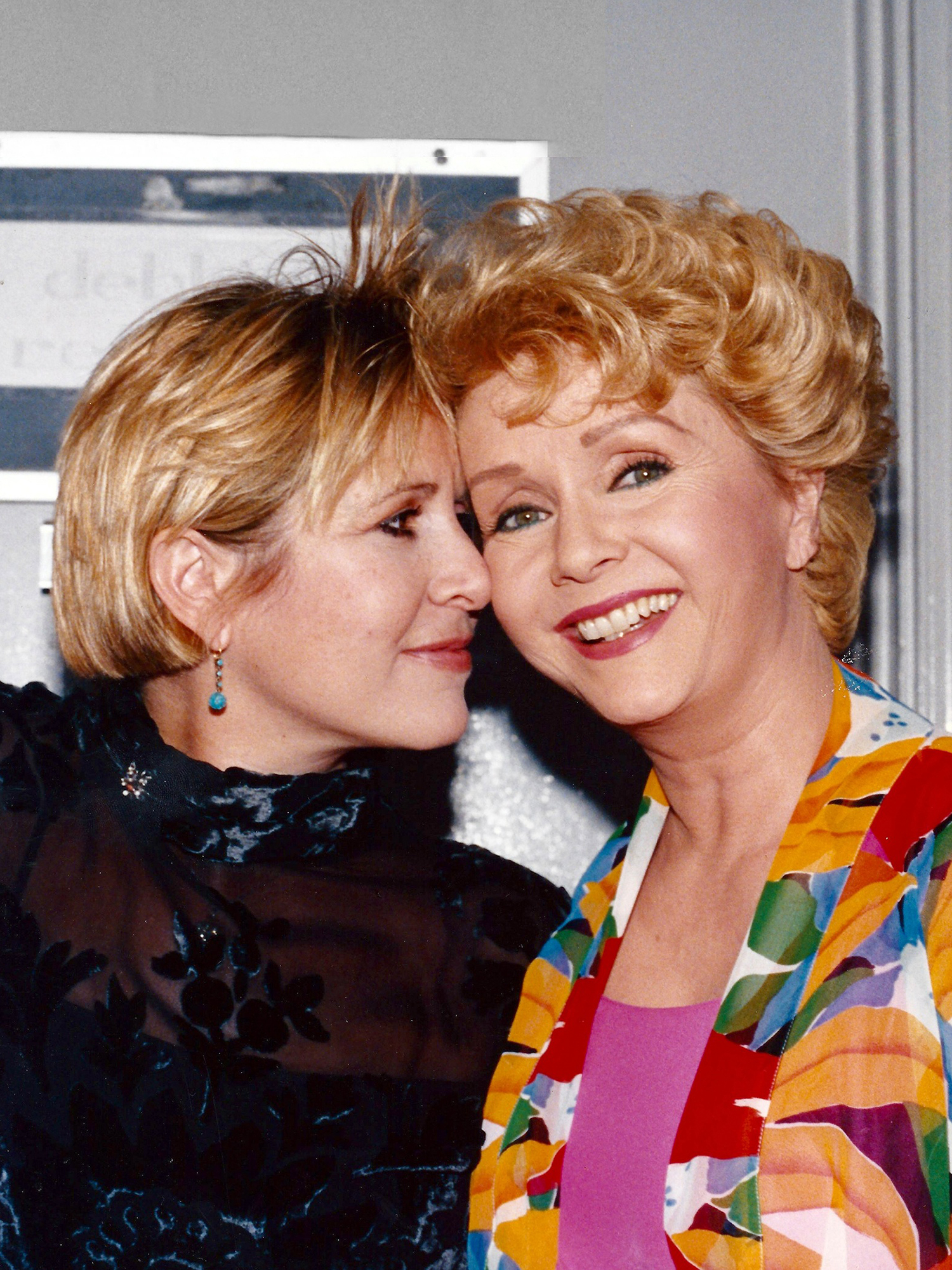 Debbie Reynolds and Carrie Fisher courtesy Debbie Reynolds