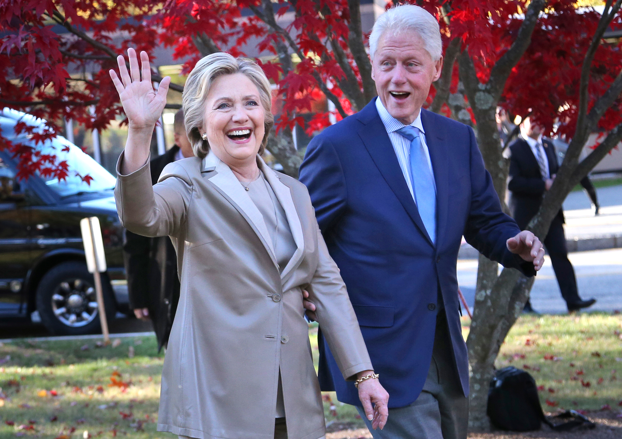 Hillary Clinton,Bill Clinton
