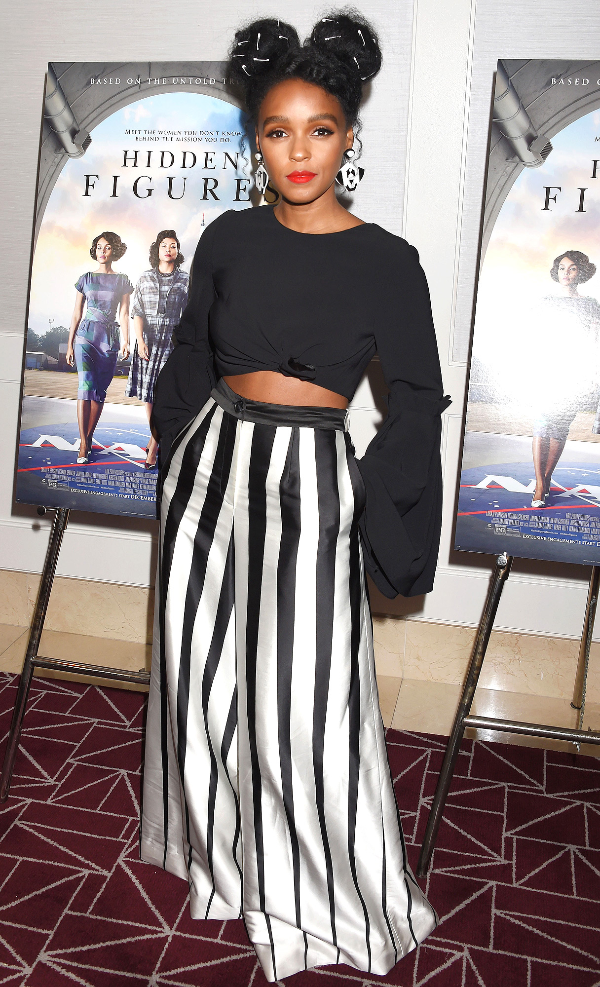 """Screening And Q&A For 20th Century Fox's """"Hidden Figures"""" - Arrivals"""
