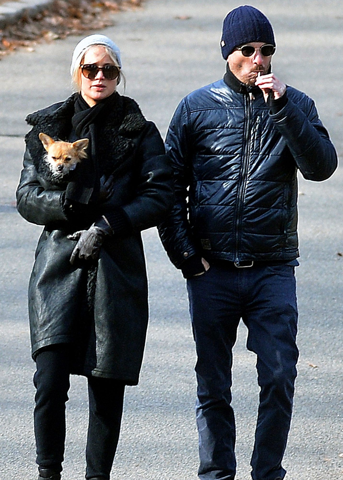 PREMIUM EXCLUSIVE: Jennifer Lawrence and Darren Aronofsky Spend New Years Eve Together in NYC