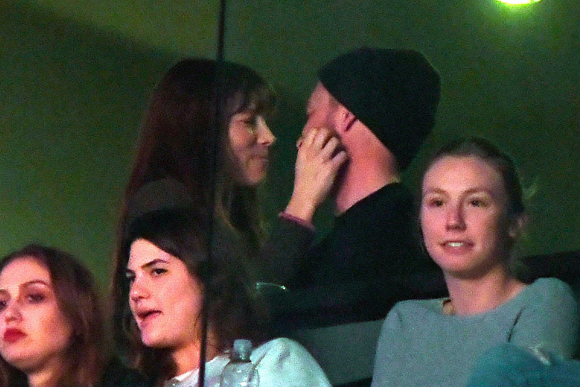 Jessica Biel and Justin Timberlake watch during the second half of an NBA basketball game between the Los Angeles Lakers and the Memphis Grizzlies, Tuesday, Jan. 3, 2017, in Los Angeles. The Lakers won 116-102. (AP Photo/Mark J. Terrill)