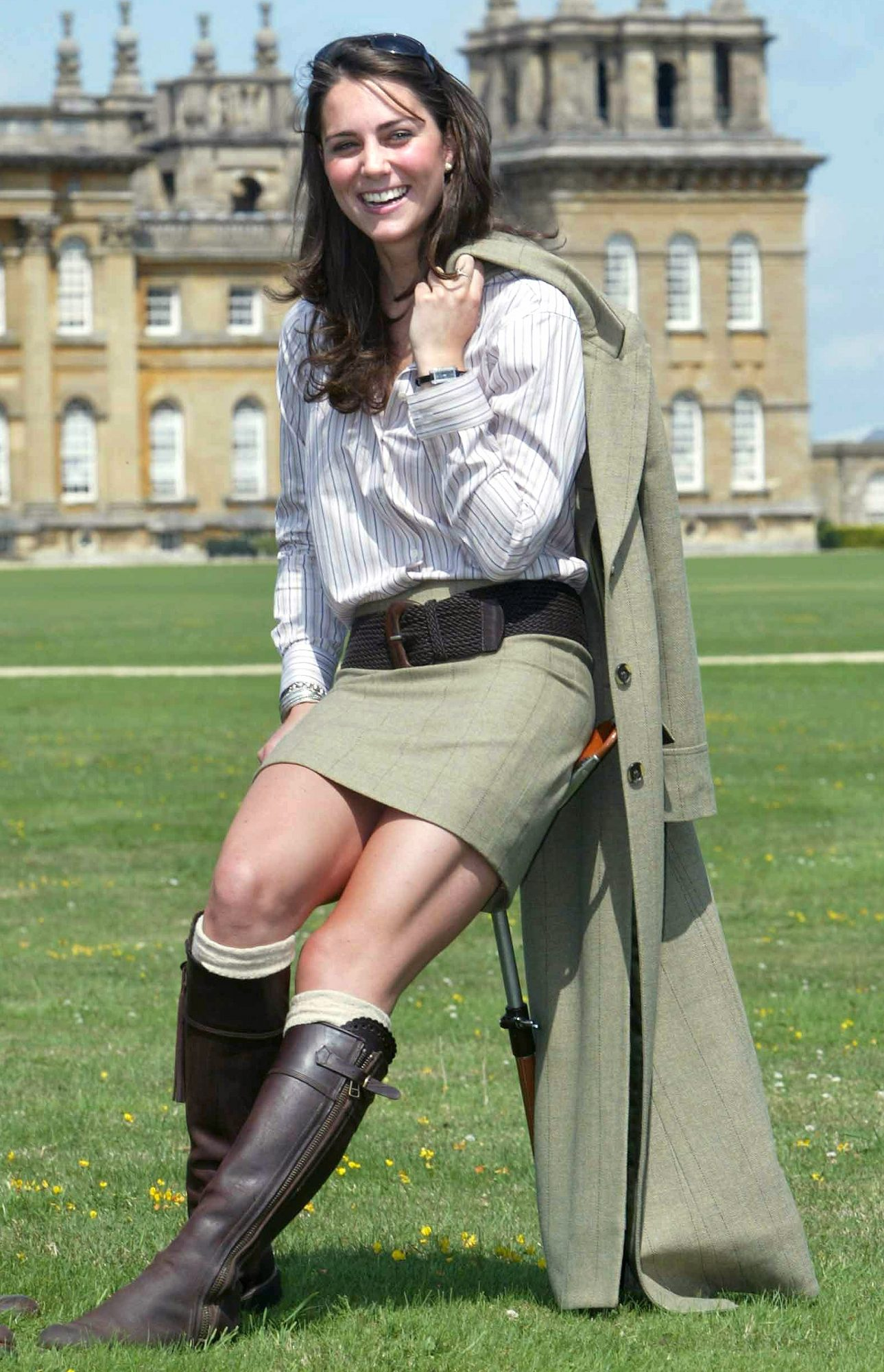 Kate Middleton at Game Fair, Blenheim Palace, Oxfordshire, Britain  - Aug 2004