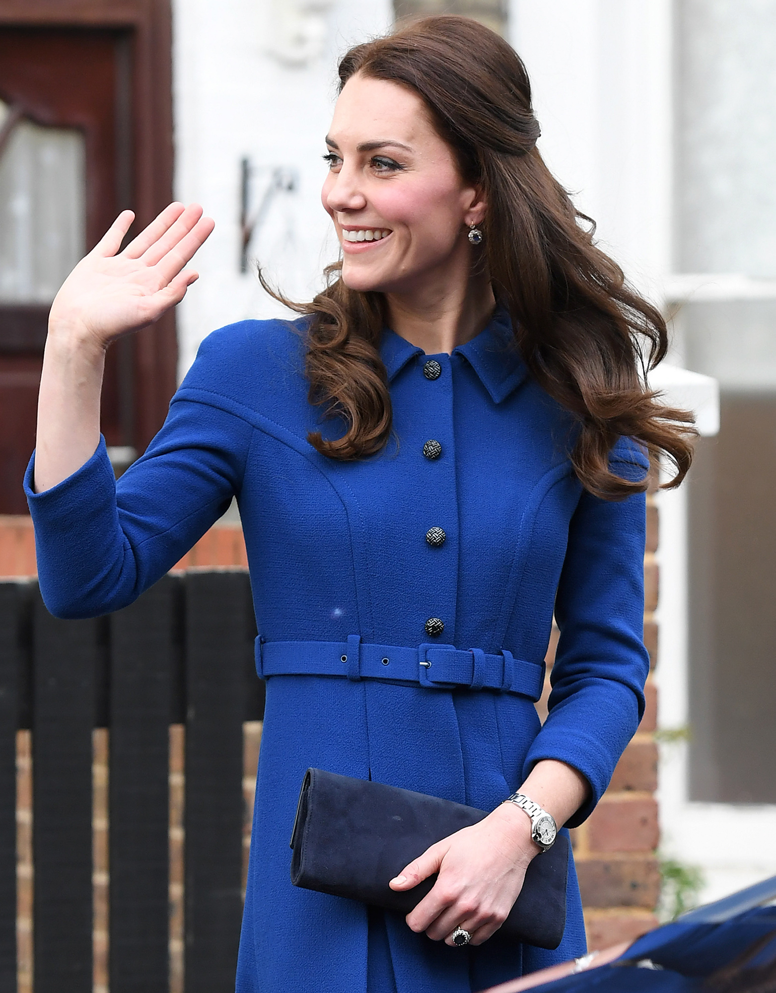 LONDON, ENGLAND - JANUARY 11: Catherine, Duchess Of Cambridge visits The Anna Freud Centre on January 11, 2017 in London, England. (Photo by Karwai Tang/WireImage)