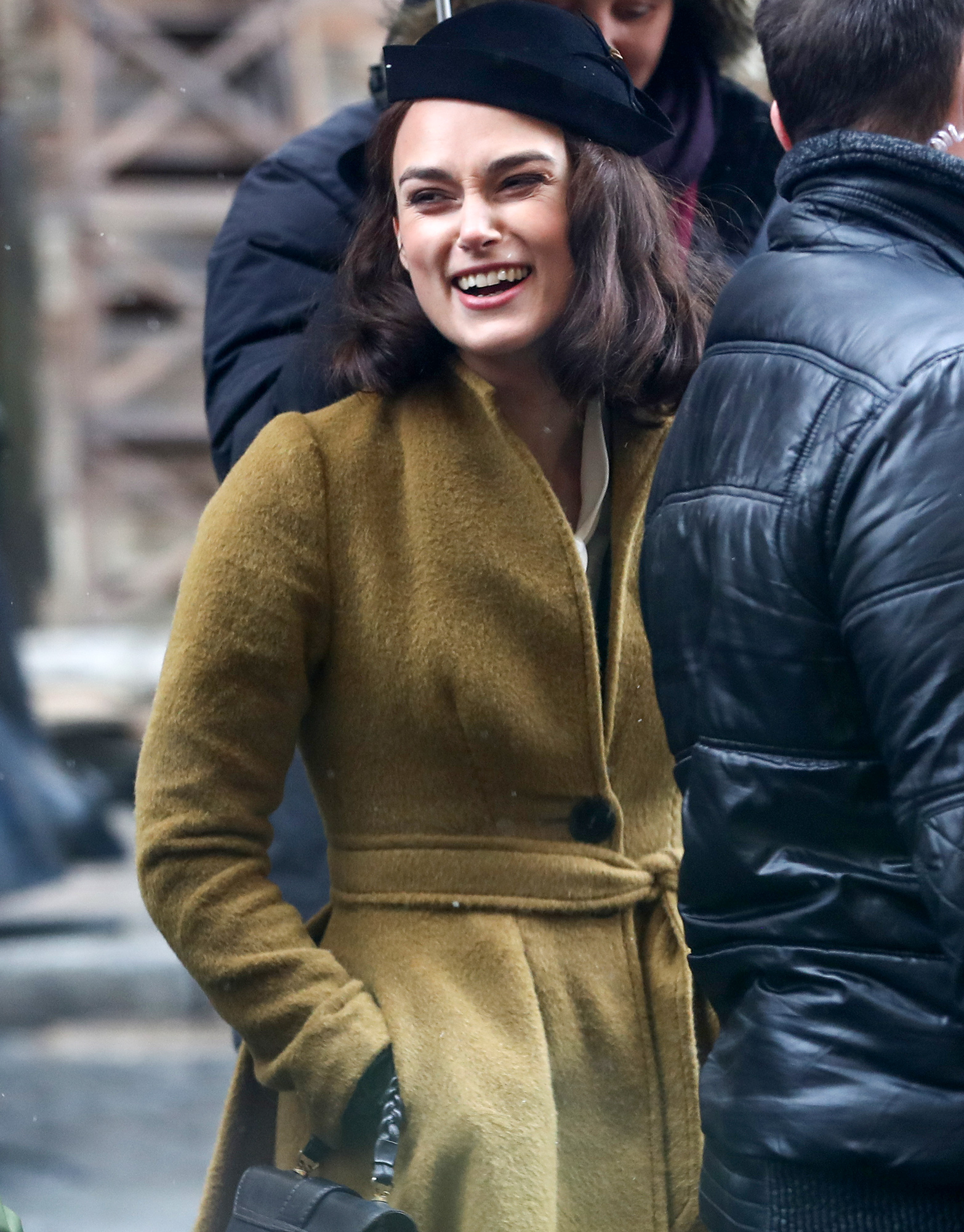 EXCLUSIVE: Keira Knightley seen filming for 'The Aftermath' in Prague