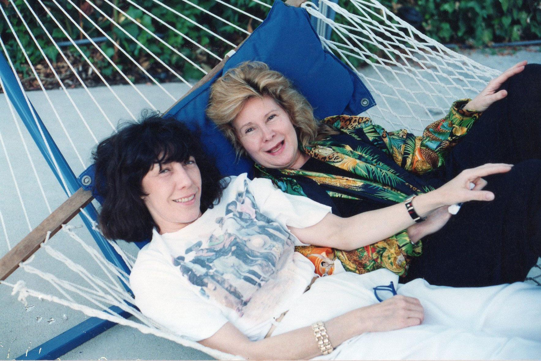 Lily Tomlin and Jane Wagner Photo Credit: Courtesy Lily Tomlin