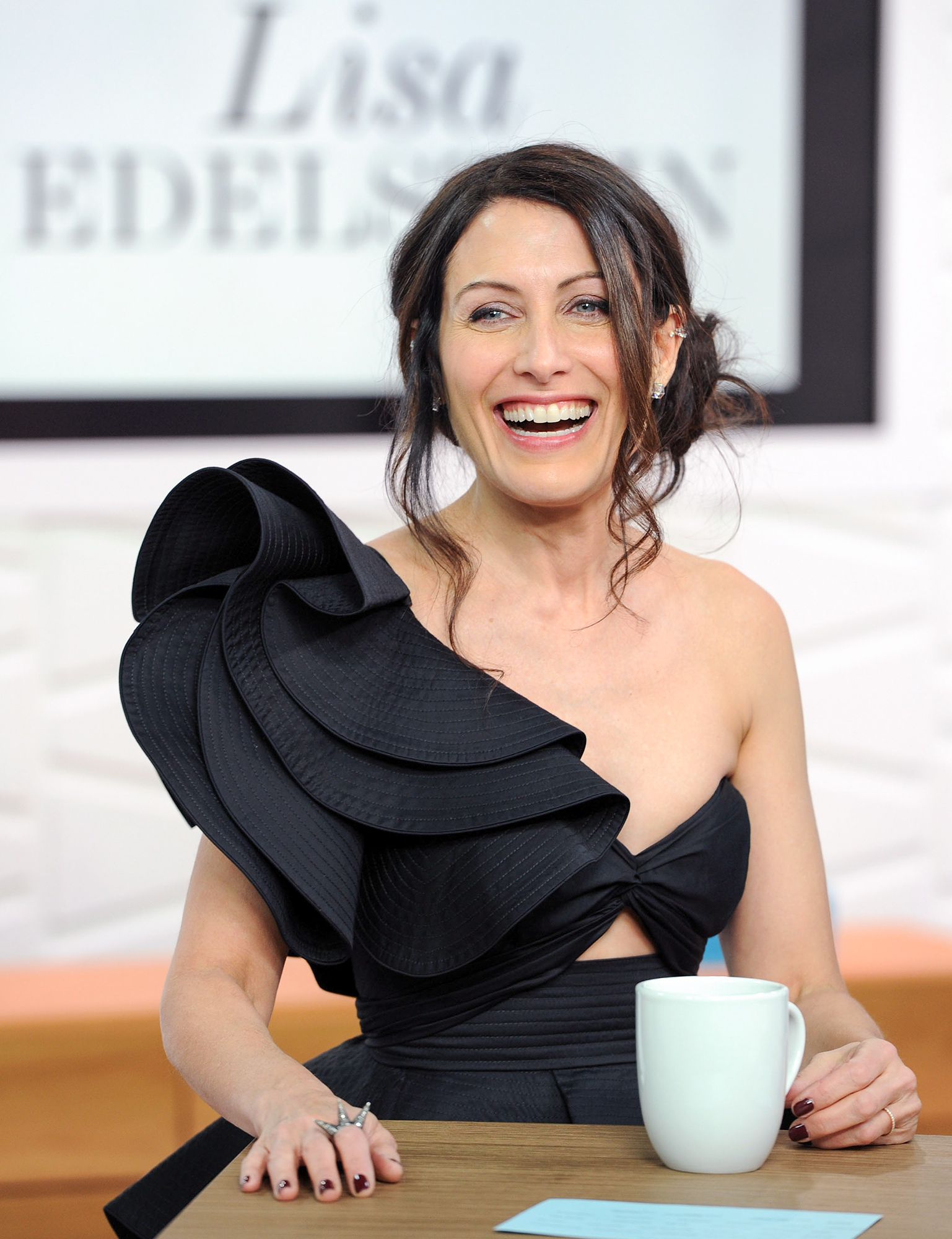 Lisa Edelstein Appears On Amazon's Style Code Live