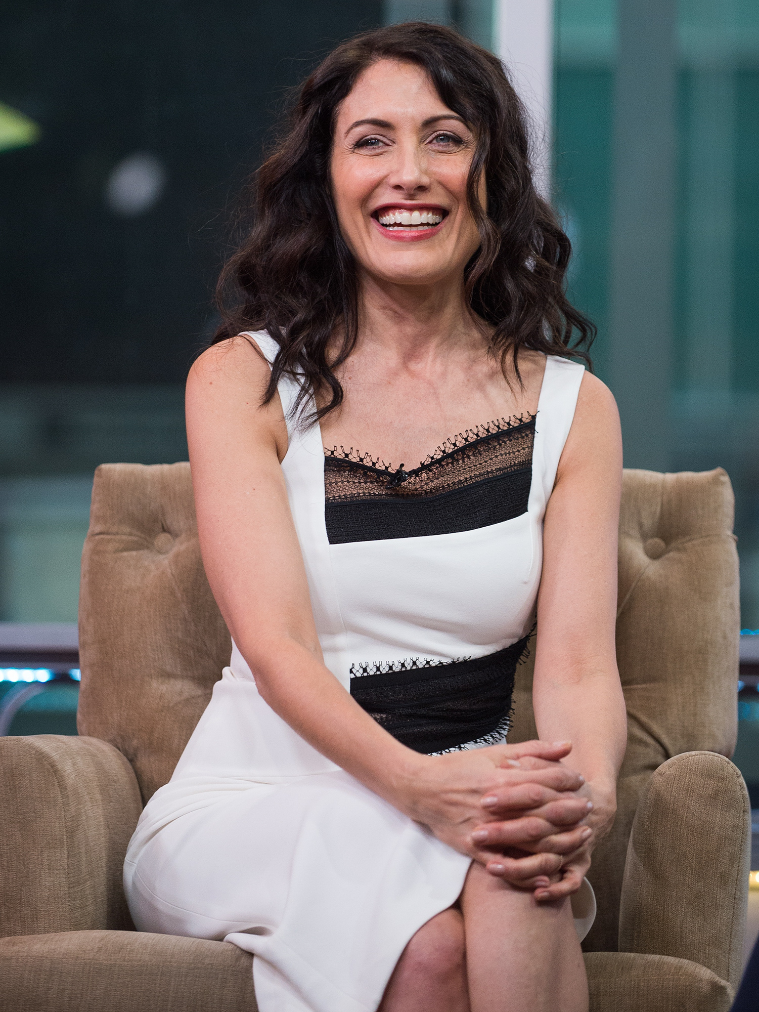 Lisa Edelstein and D.B. Woodside Visit Hollywood Today Live