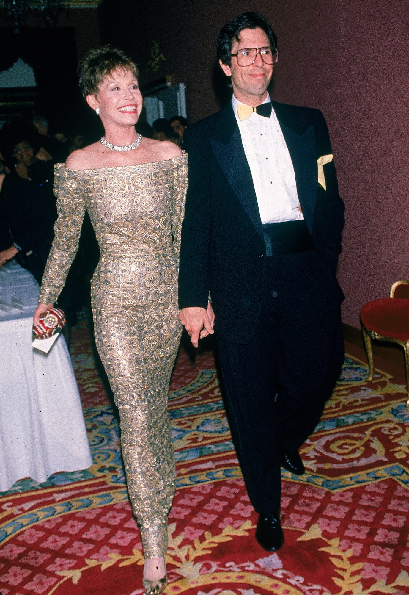 Actress Mary Tyler Moore & husband Dr Robert Levine