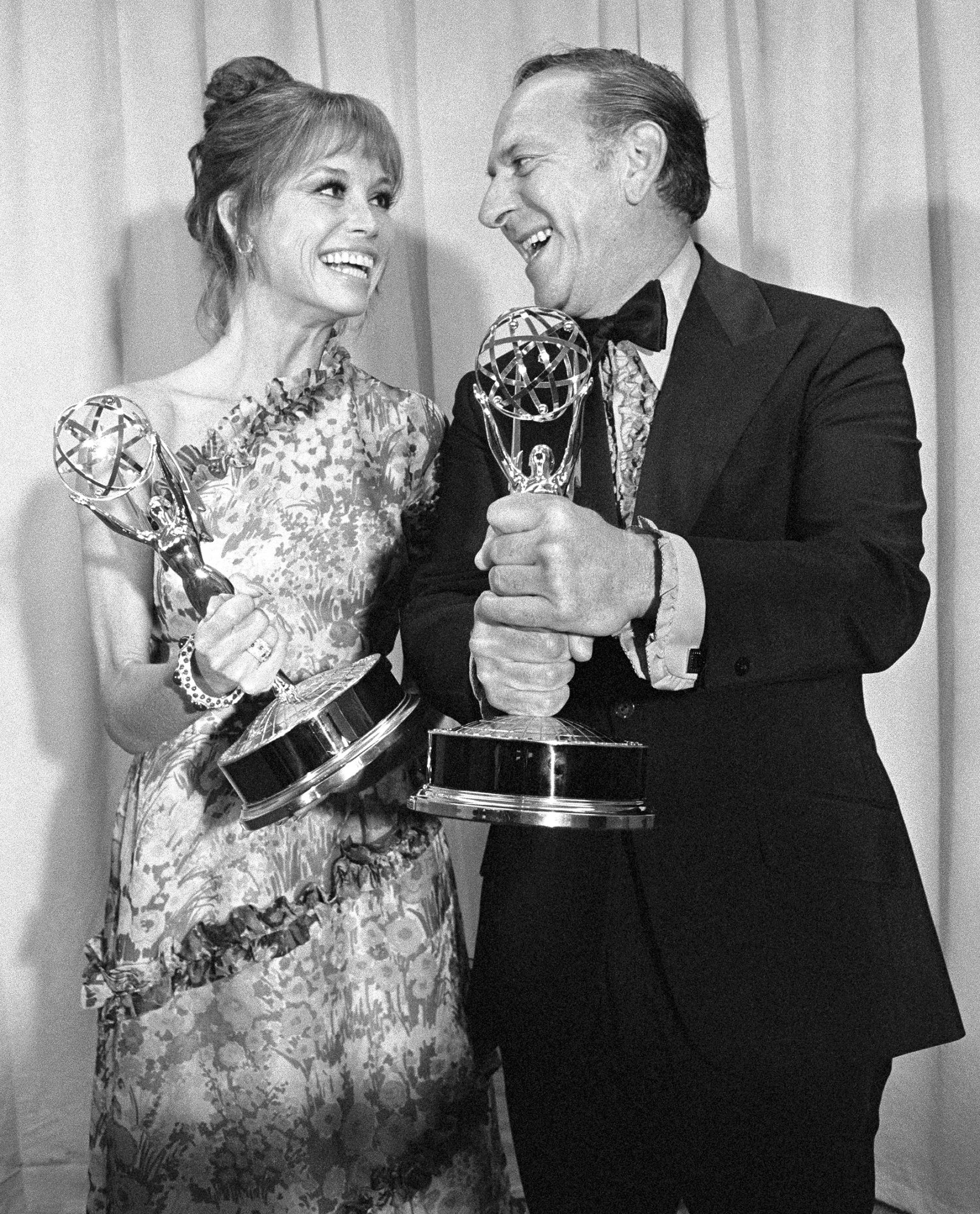 Portrait of Mary Tyler Moore and Jack Klugman