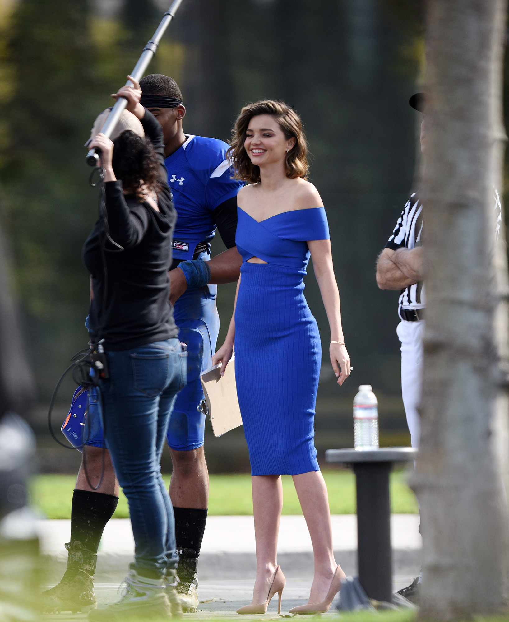 EXCLUSIVE: Miranda Kerr looking flawless during a photoshoot in L.A