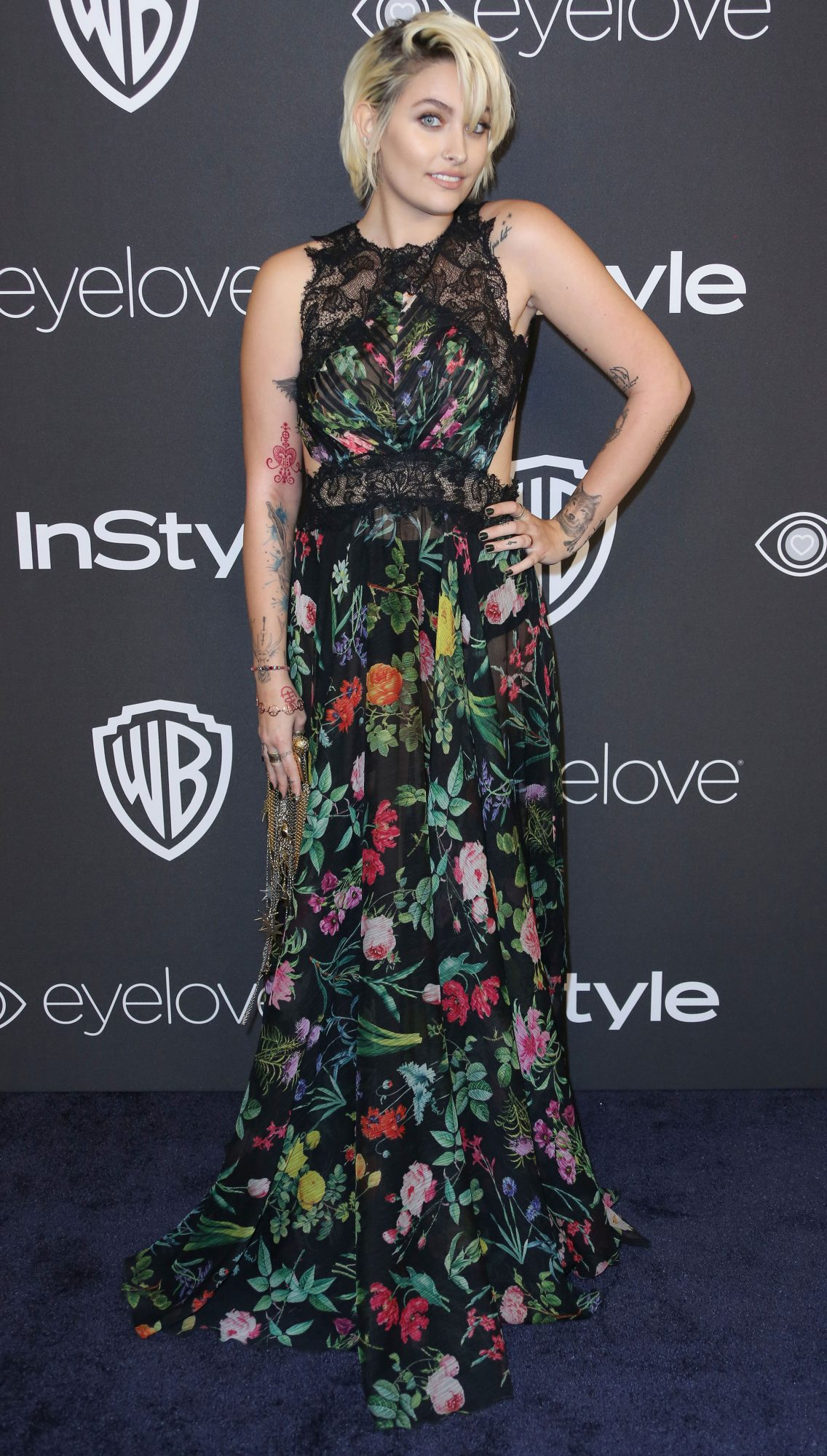 InStyle and Warner Bros Golden Globes After Party, Arrivals, Los Angeles, USA - 08 Jan 2017