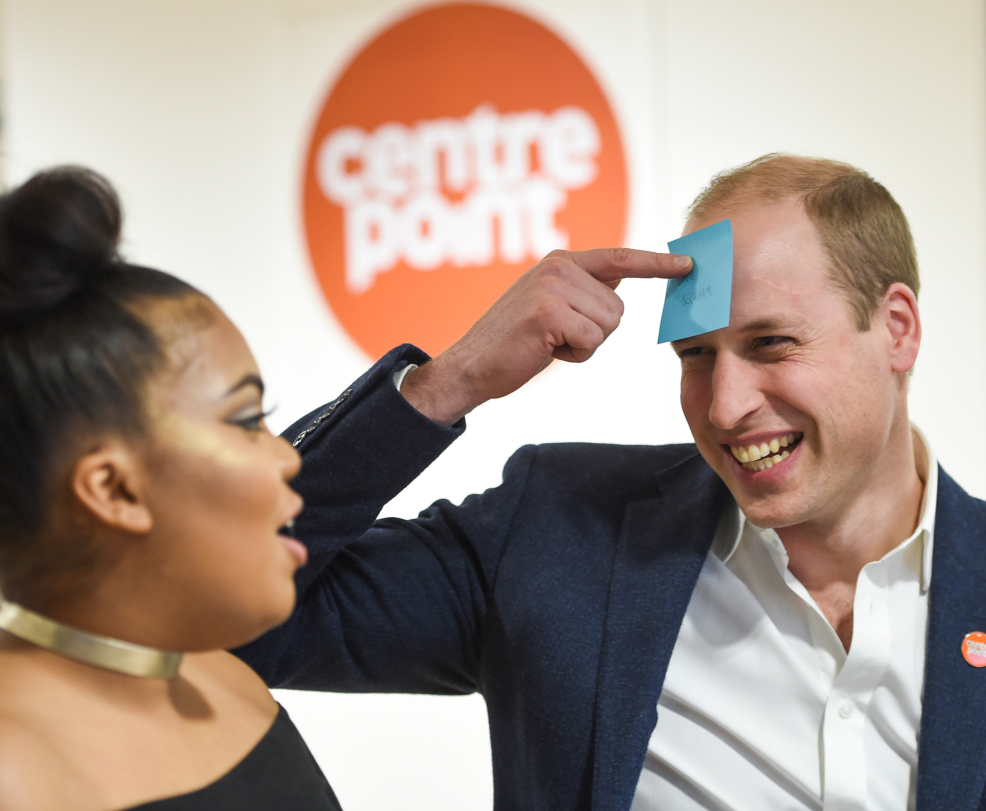 The Duke Of Cambridge Visits A Centrepoint Hostel
