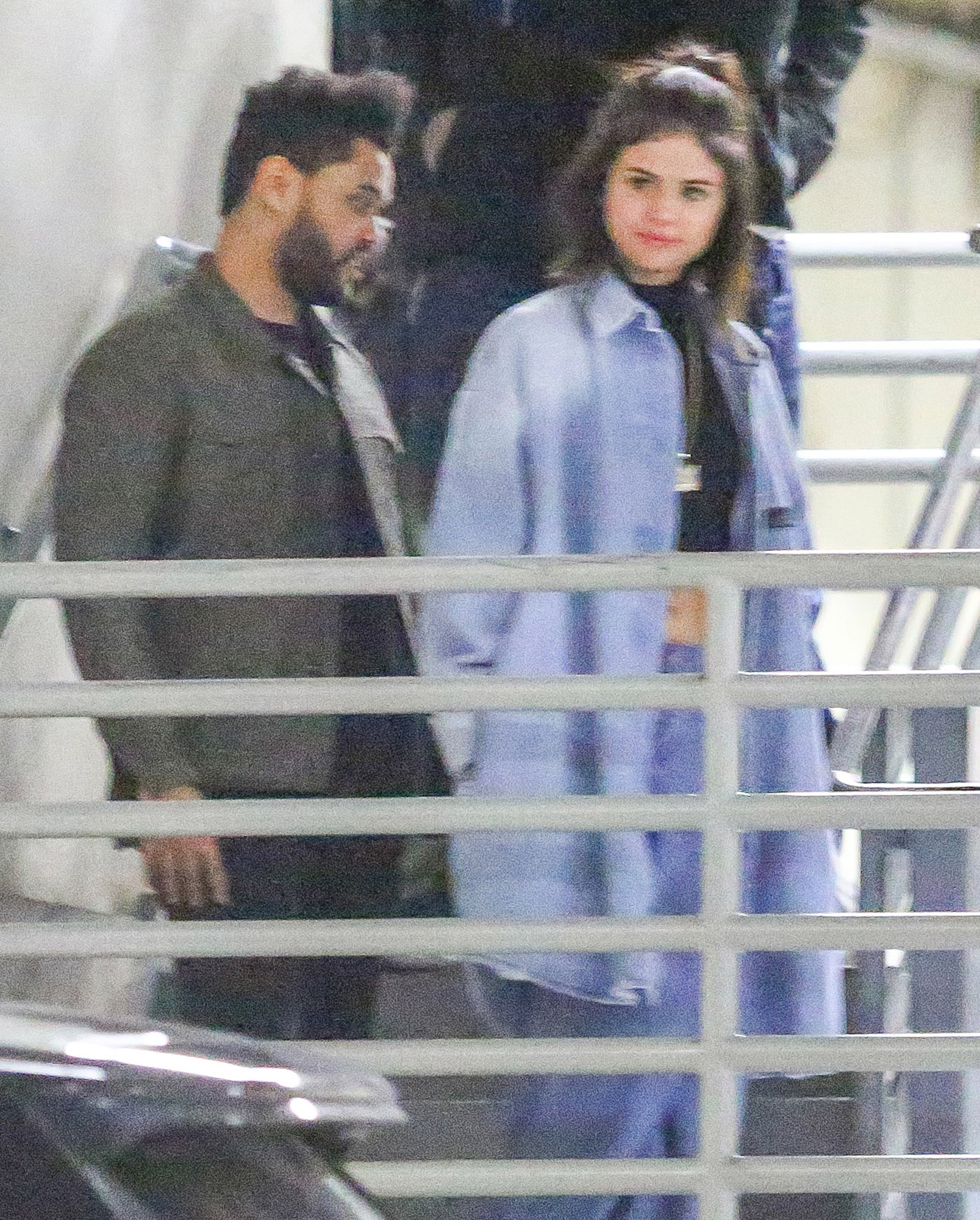 *PREMIUM EXCLUSIVE* Selena Gomez and The Weeknd leave Dave and Buster's Date Night **WEB EMBARGO UNTIL 9:30AM PST ON 01/27/17**
