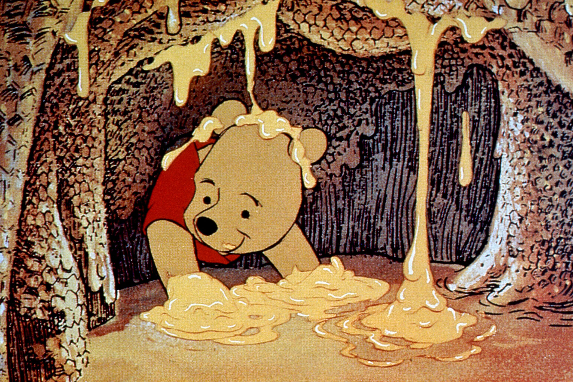 THE NEW ADVENTURES OF WINNIE THE POOH, Winnie the Pooh, 1988, (c) Buena Vista/courtesy Everett Colle